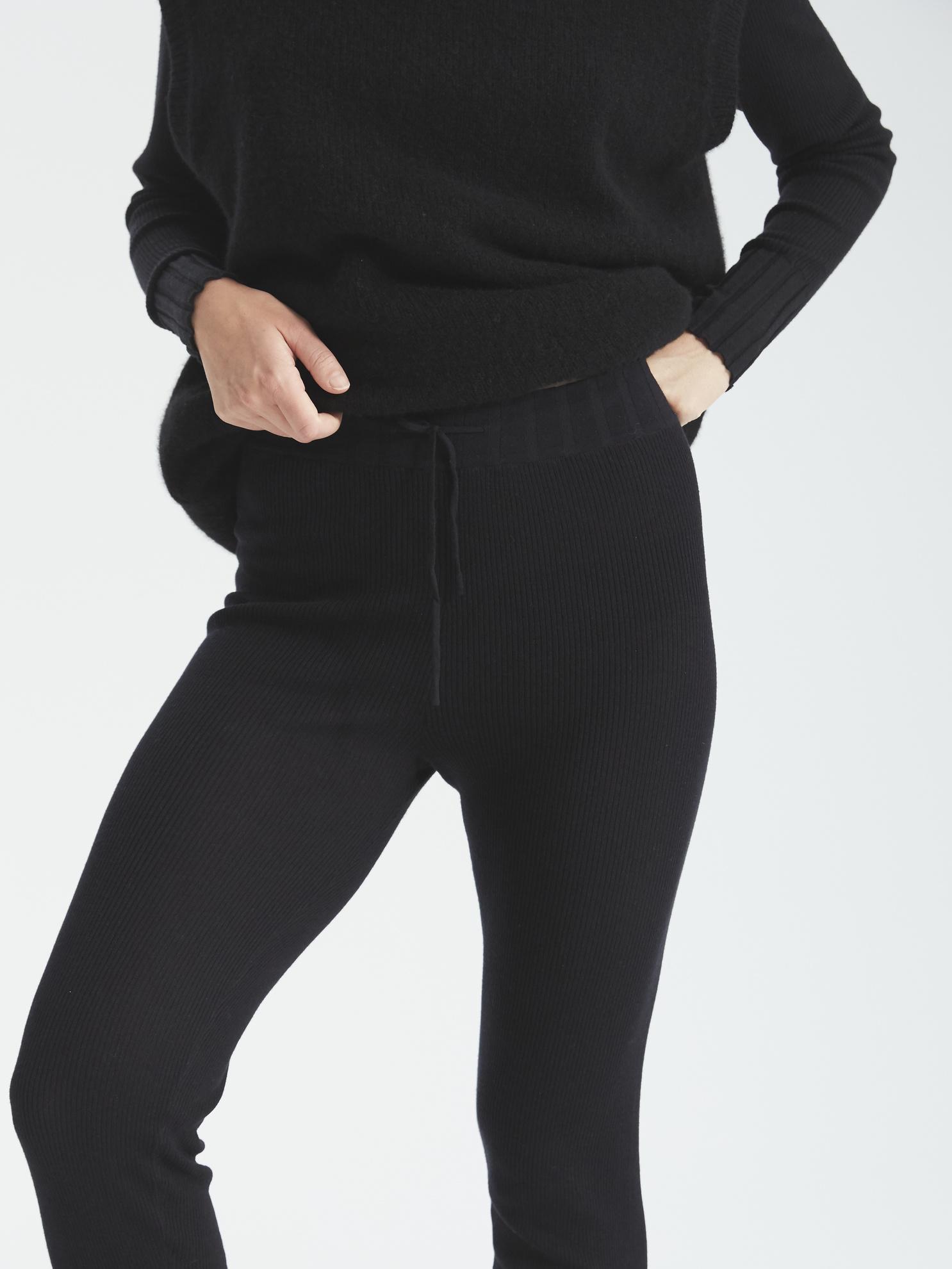 Dex knit leggings black
