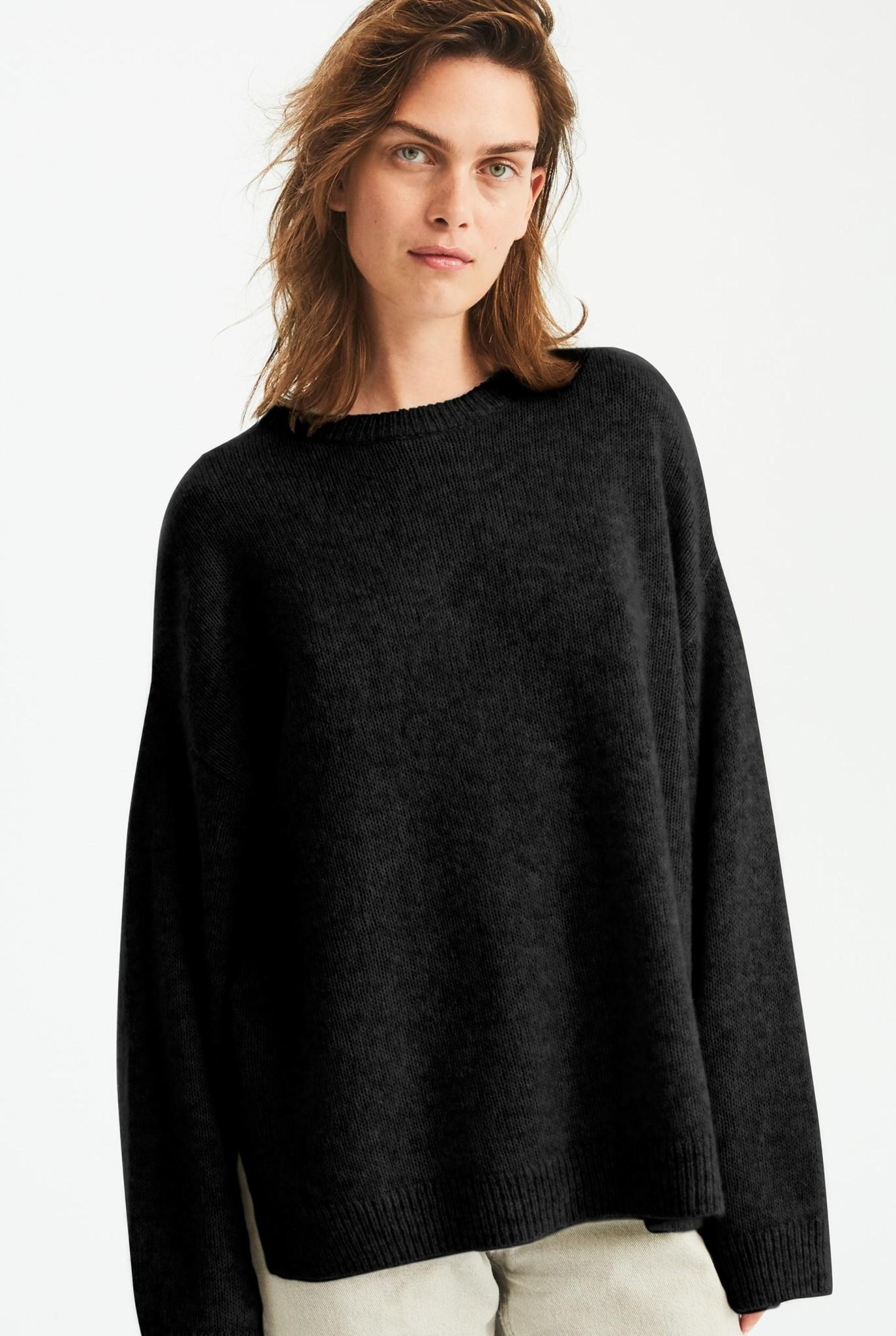 Bez Crew knit black