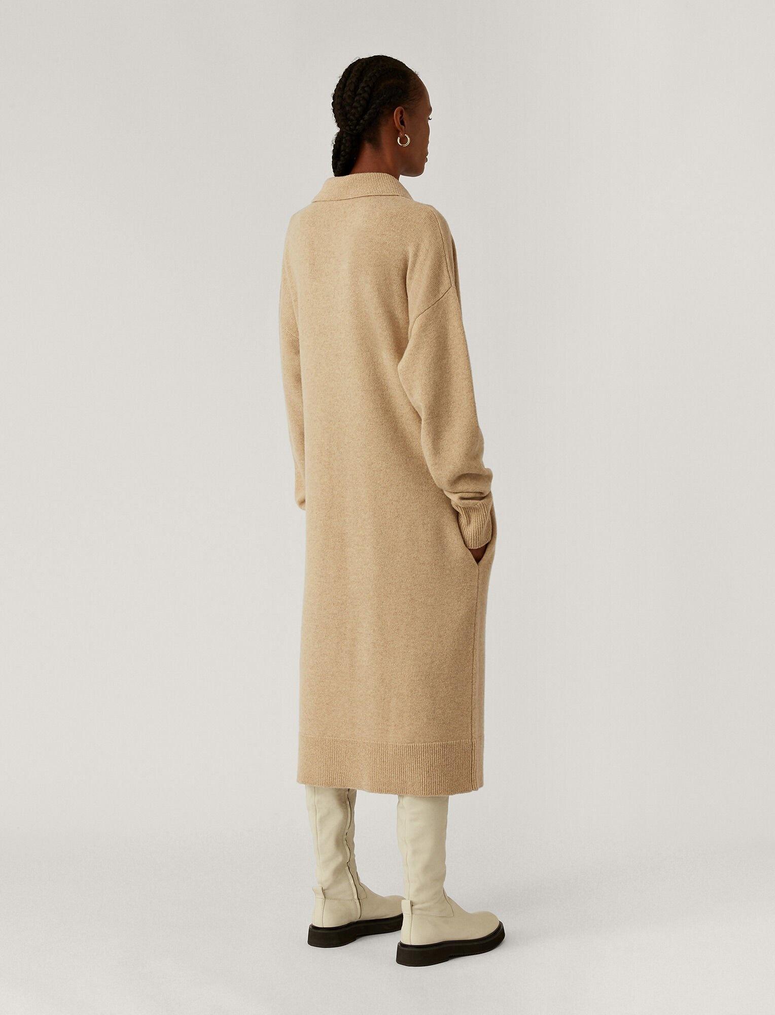 Polo Dress O'Size Knit Linen