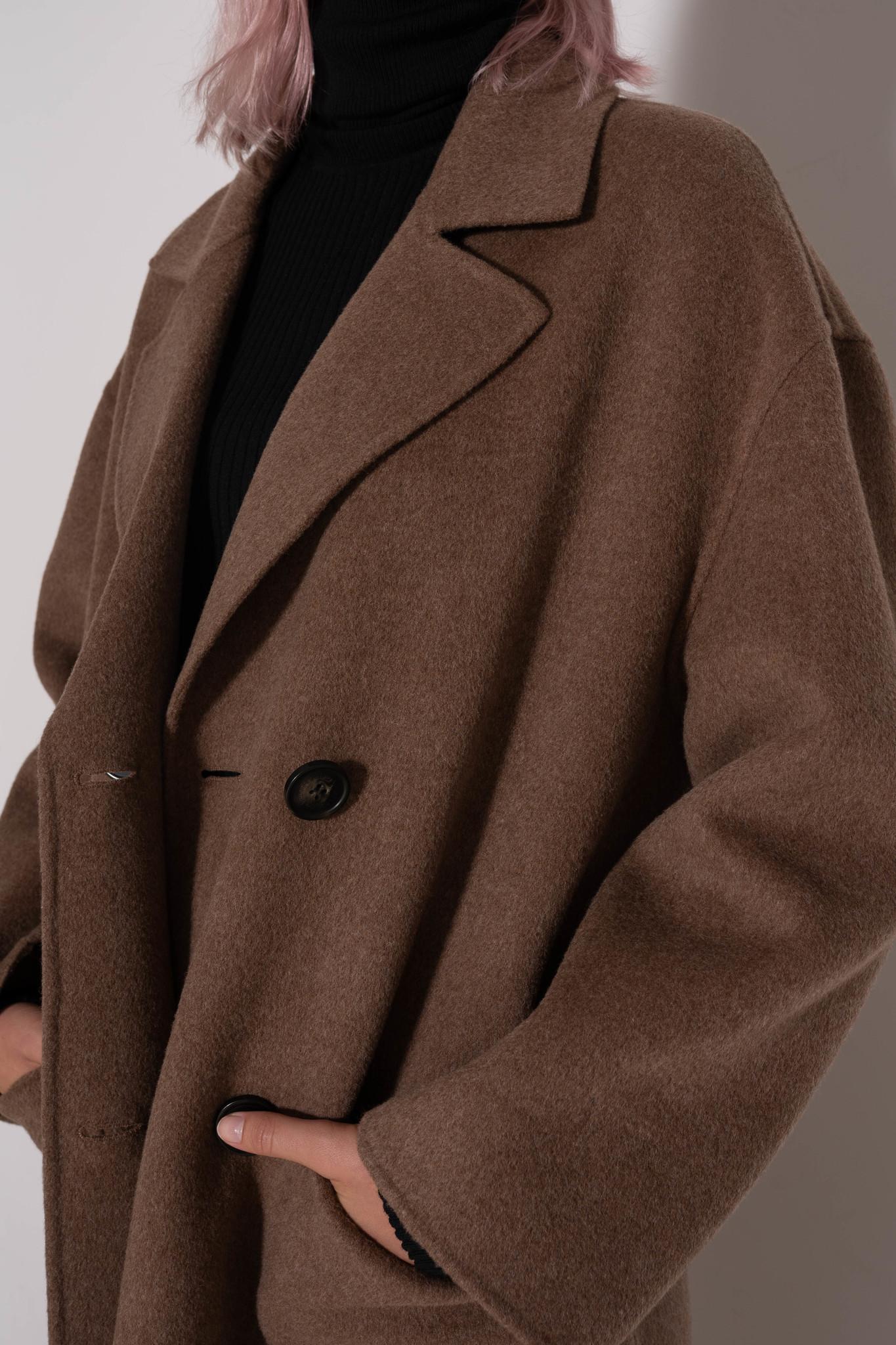 Partheo coat Taupe
