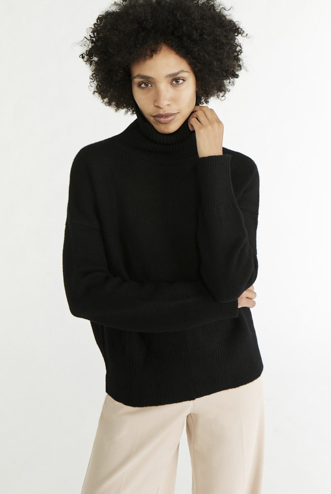Malo Sweater Black