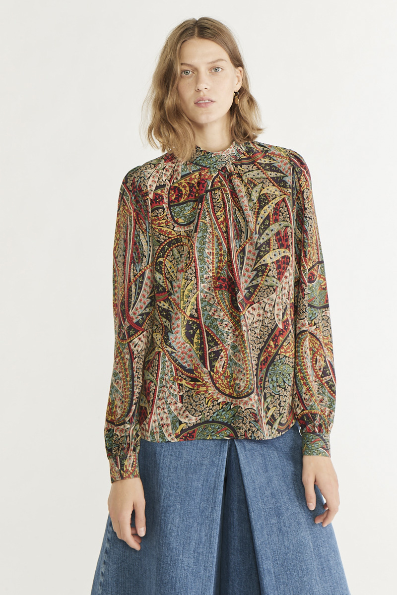 Paolo blouse sapin