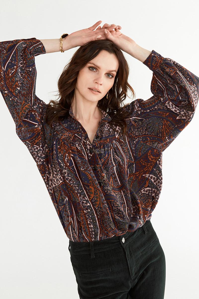 Pamina blouse navy