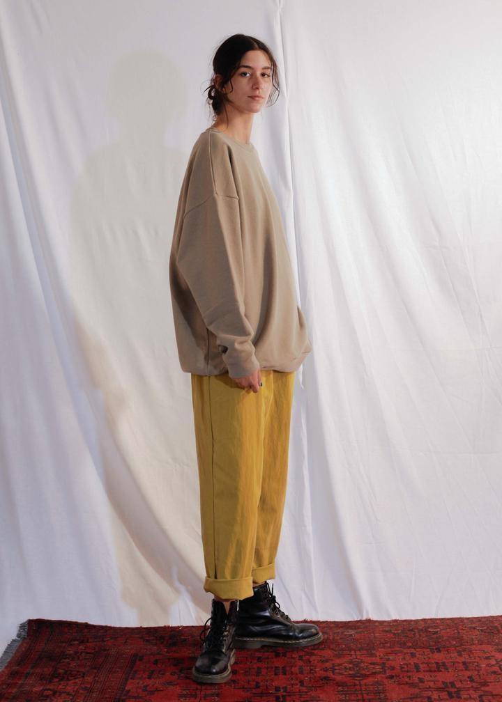 Classic Sweatshirt Covert Green