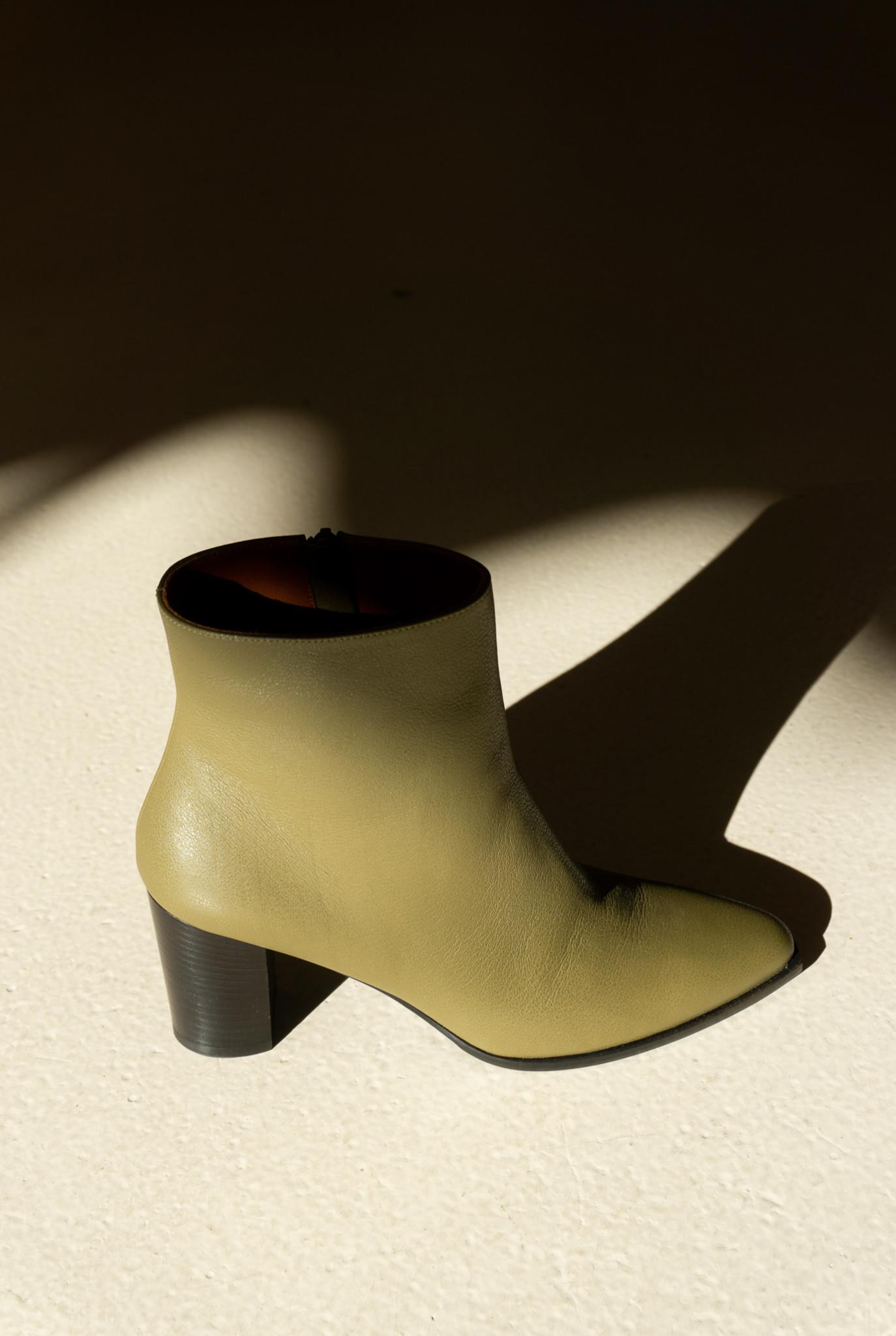 Aksel Boot Anaconda Green