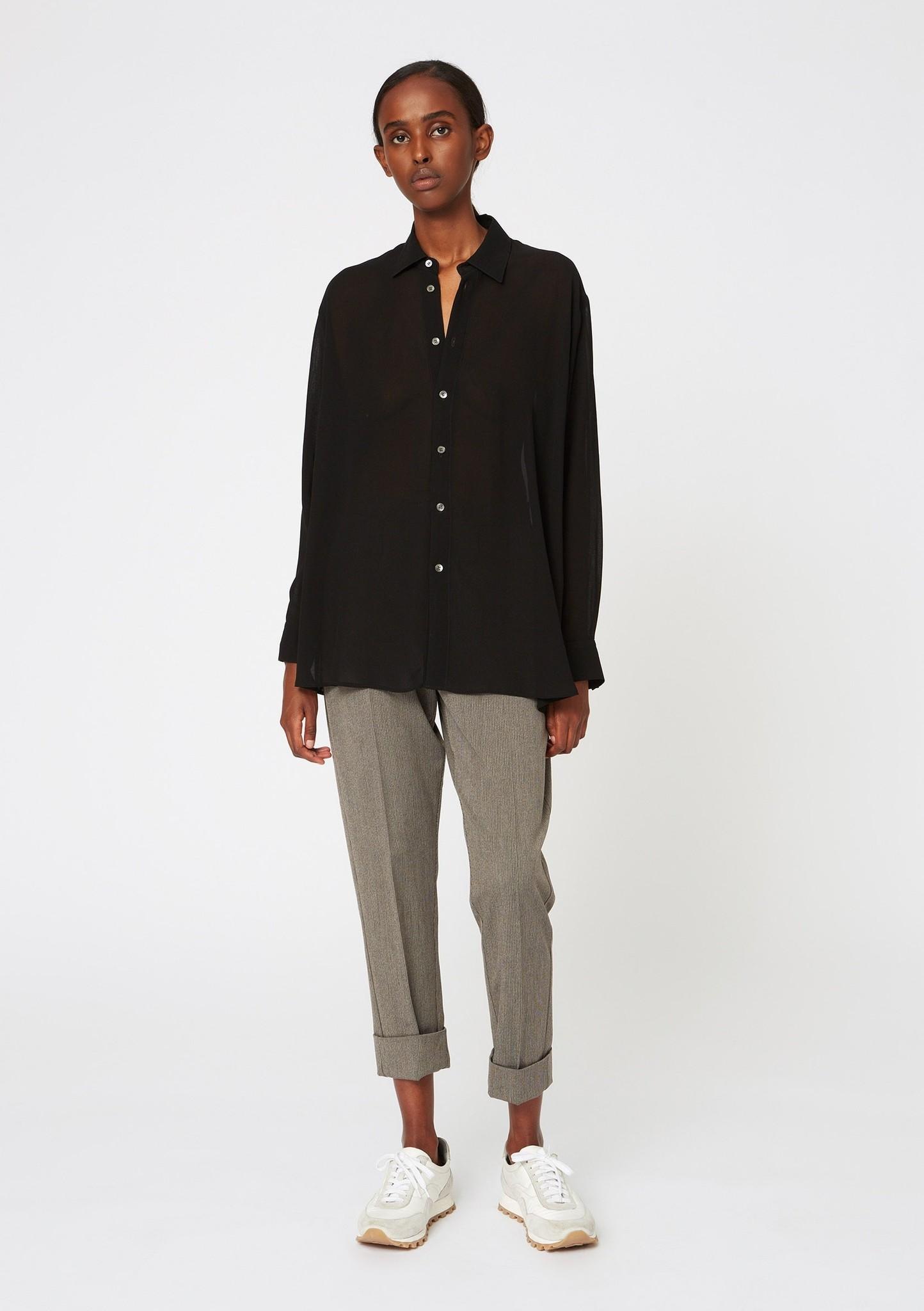 Law trouser khaki grey stripe