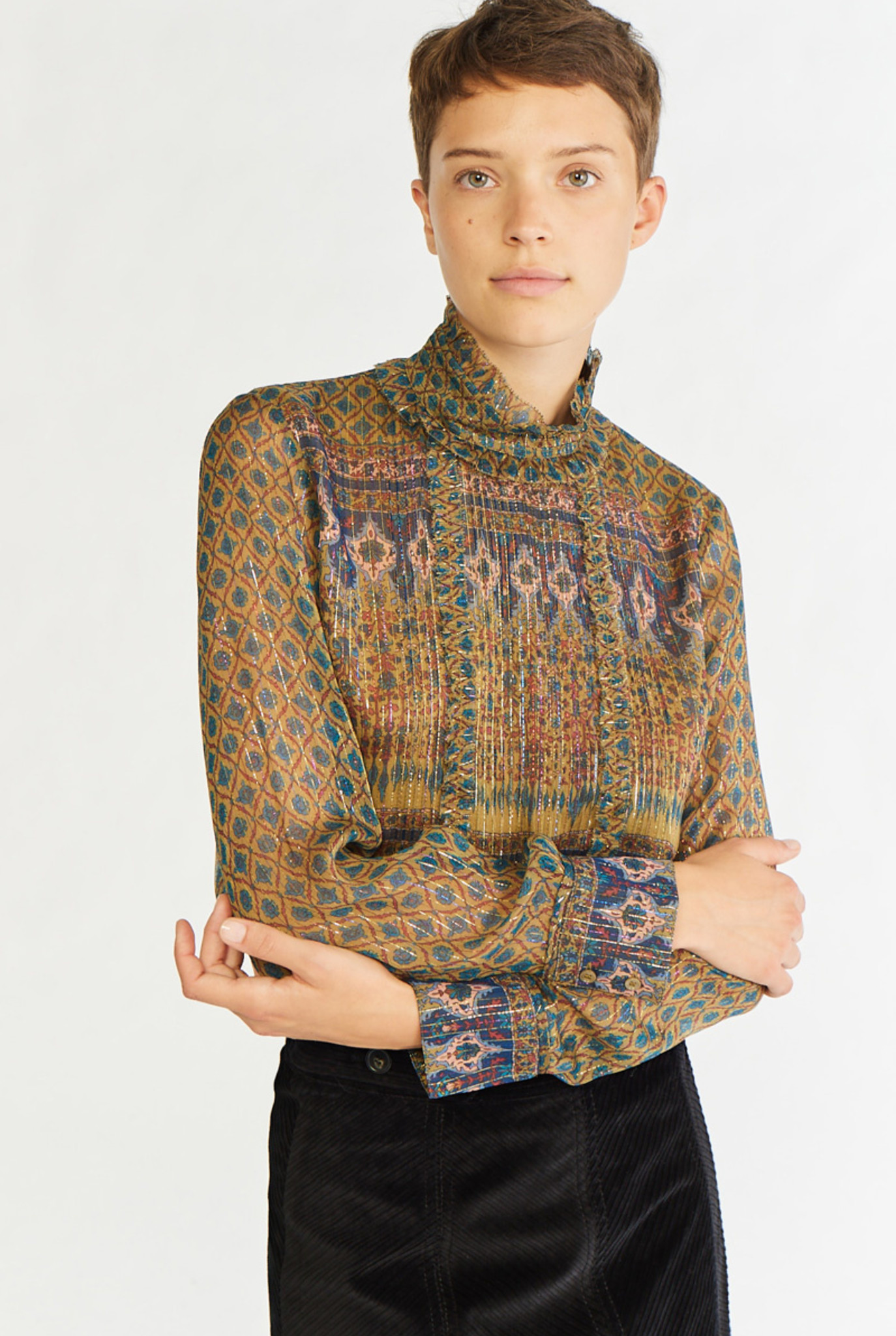 Pretty Blouse Bronze