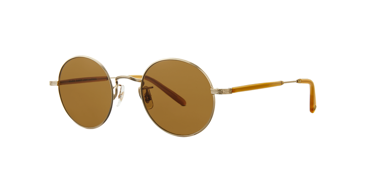 Lovers 46 matte gold-amber honey/ pure brown