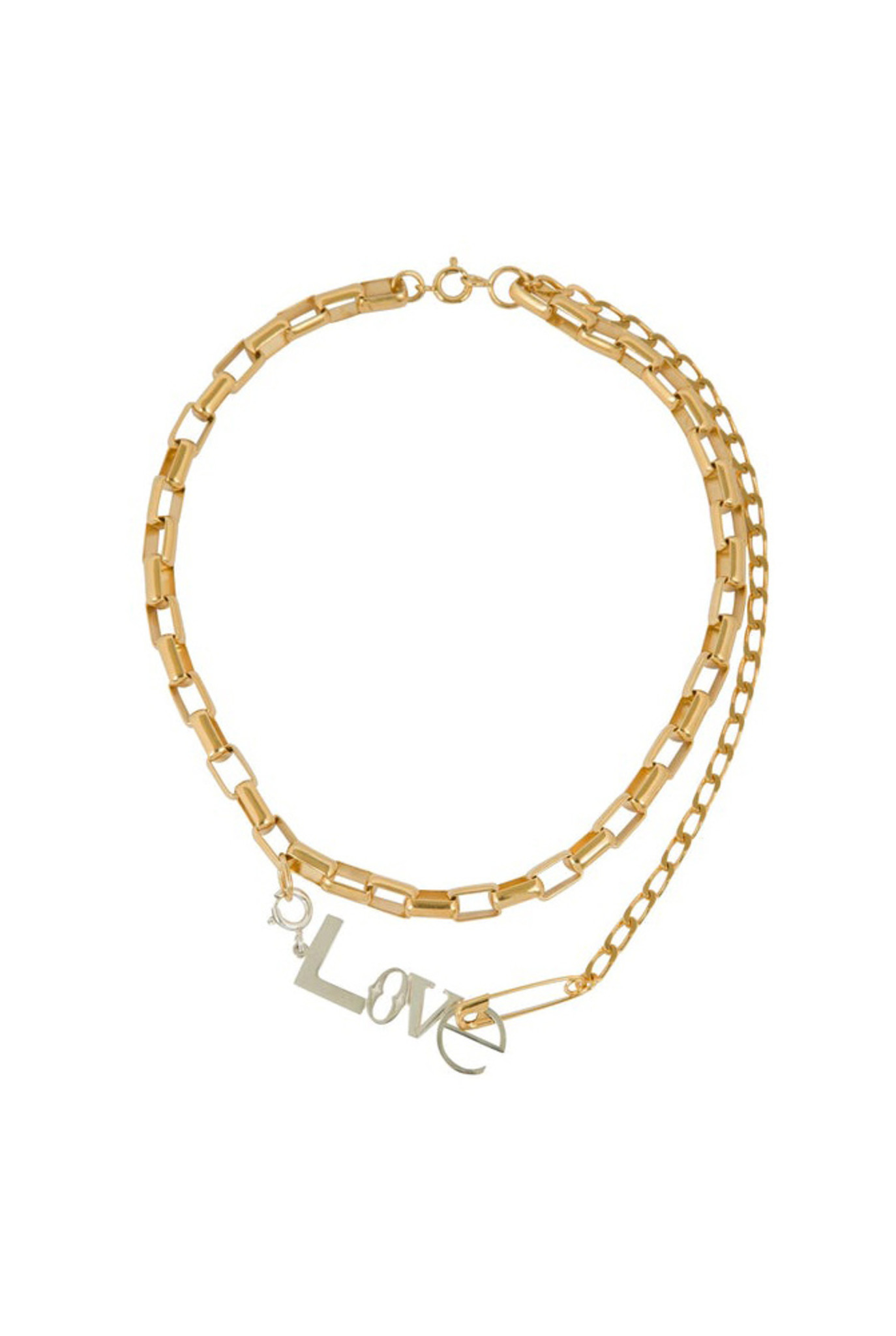 Love chains necklace mix