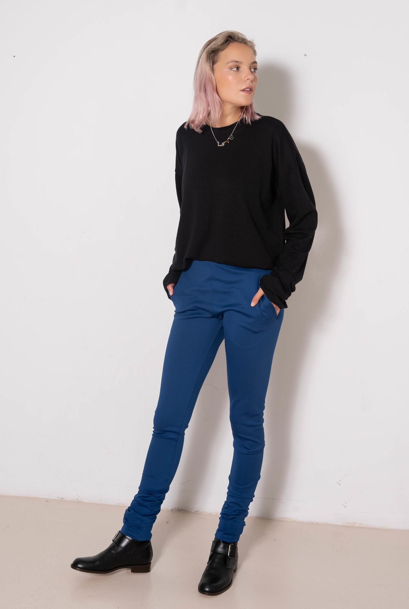 Legging Blue Lycra