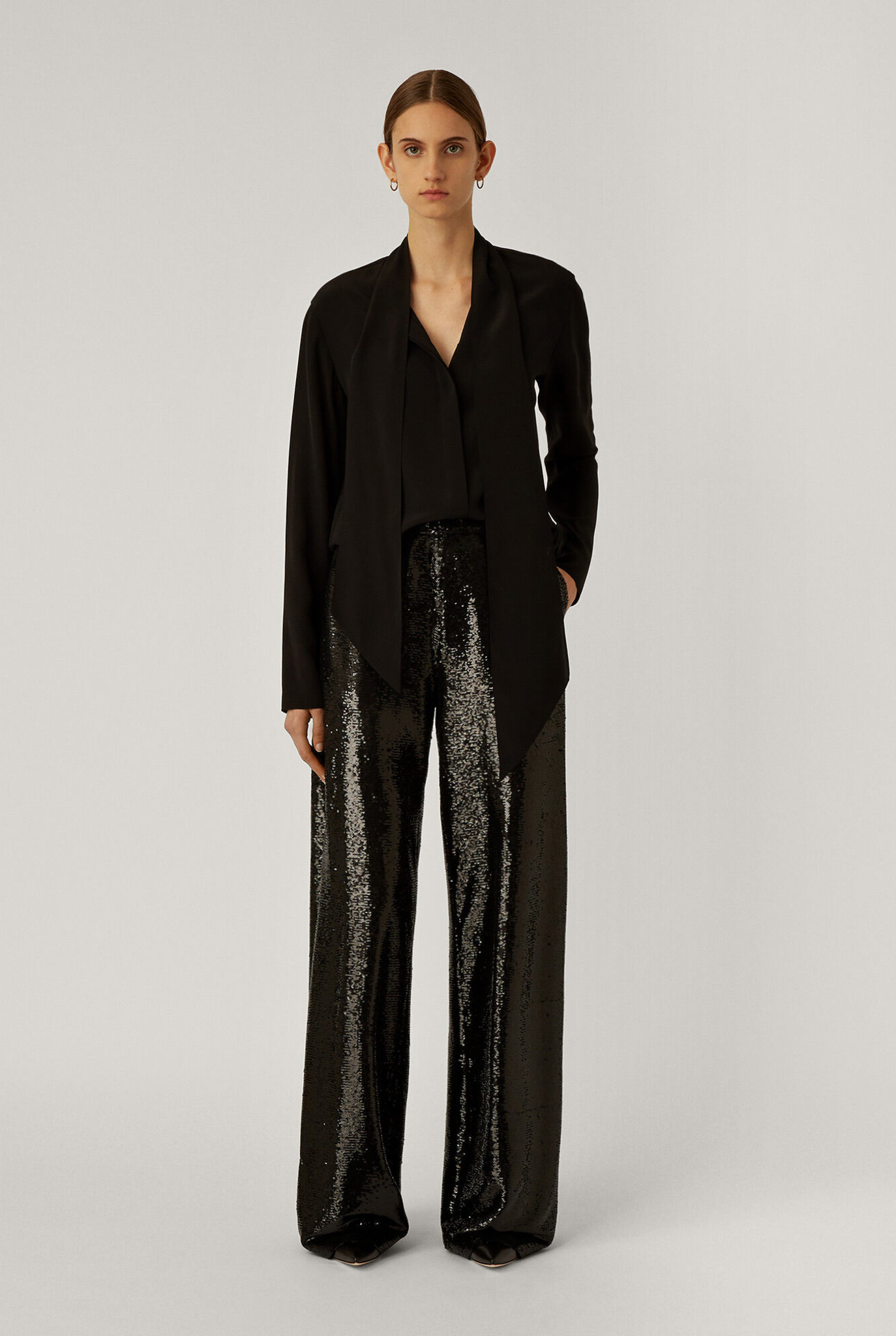 Tawny Sequins trouser black