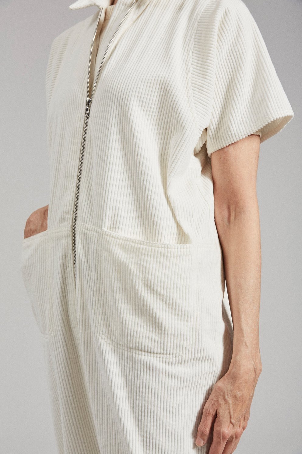 Barrie Jumpsuit Off White
