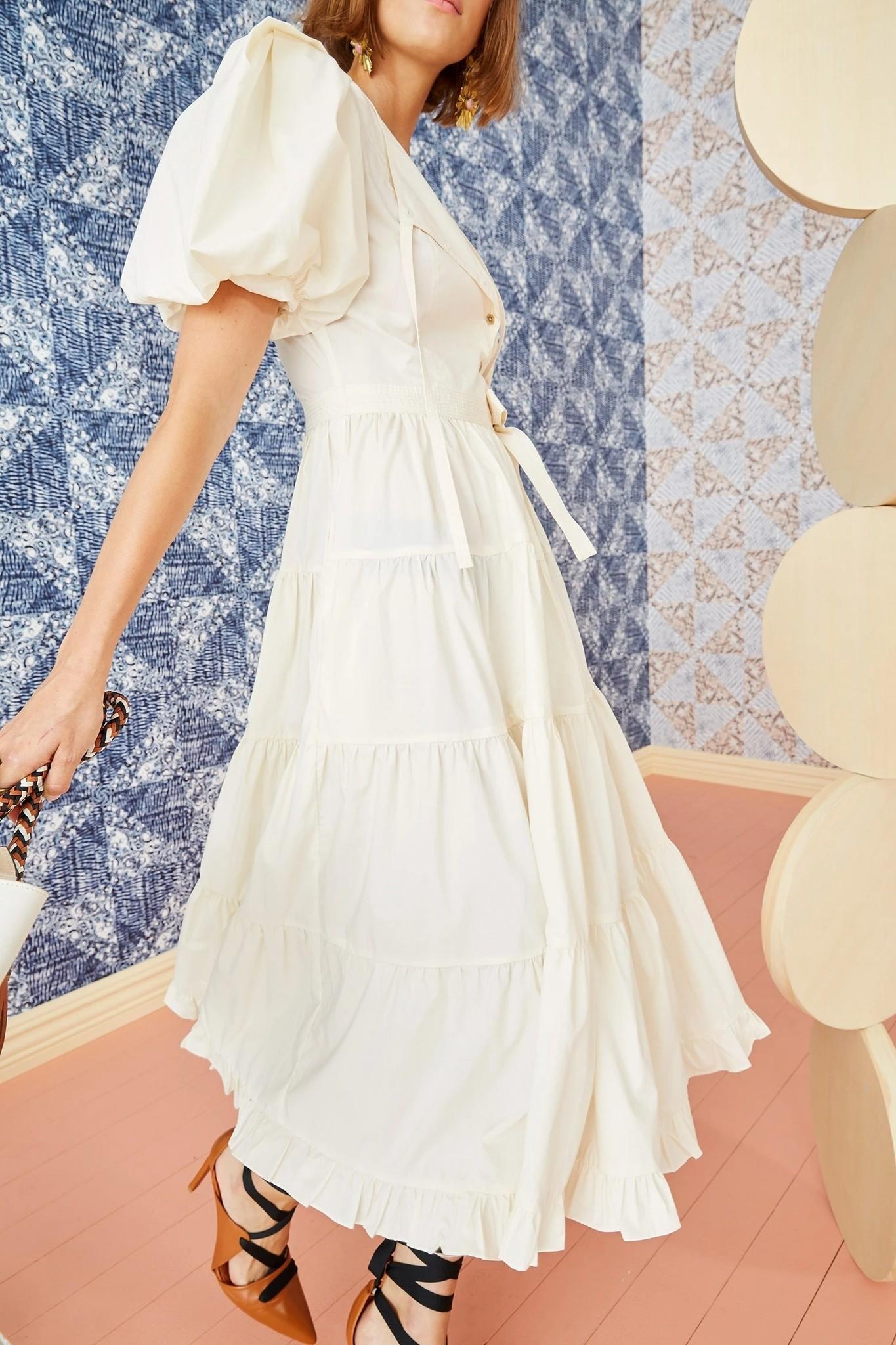 Agathe dress cream