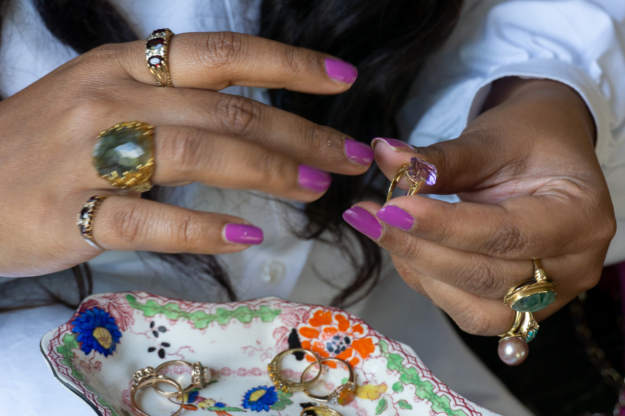 Meet the face behind the bling bling: Sharita Toonen