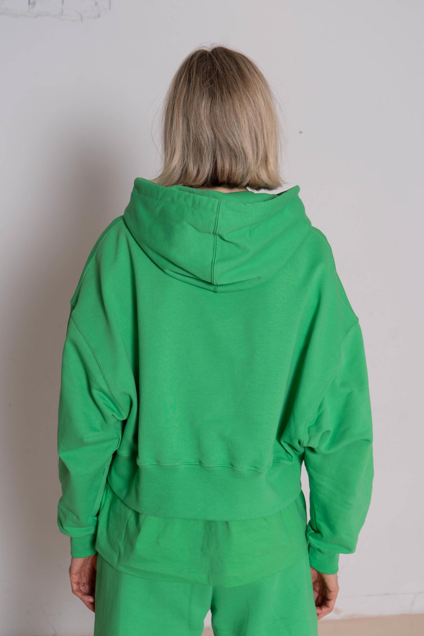 Felpa Sweatshirt Luminious Green
