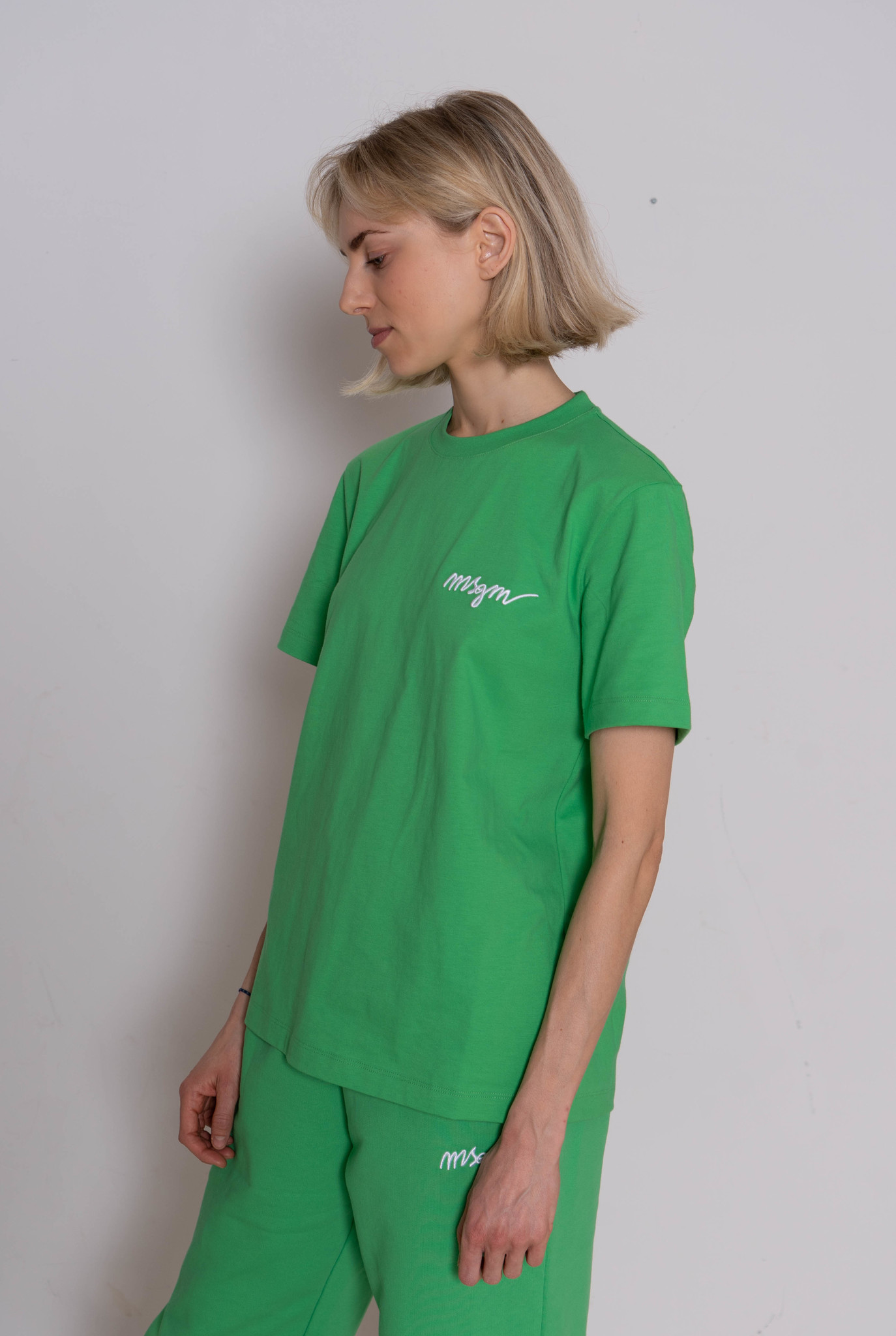 Basic T-shirt Luminious Green