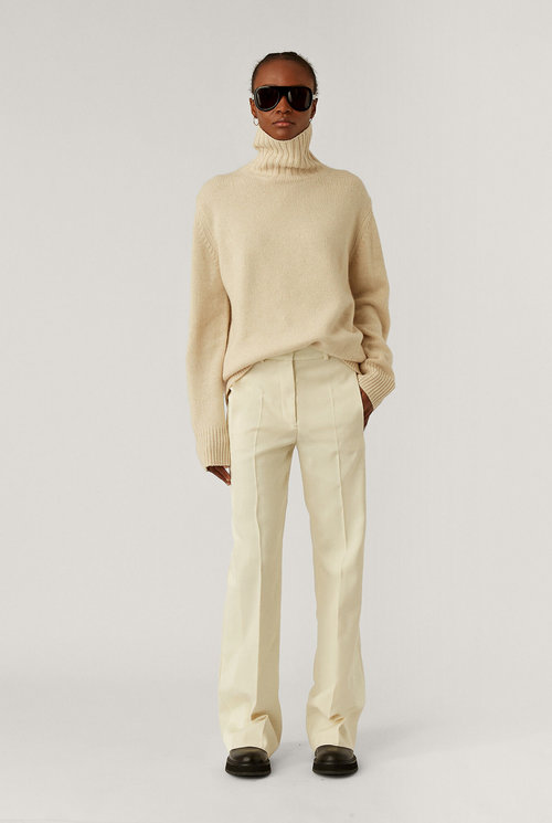Joplin wool silk tux blazer trousers