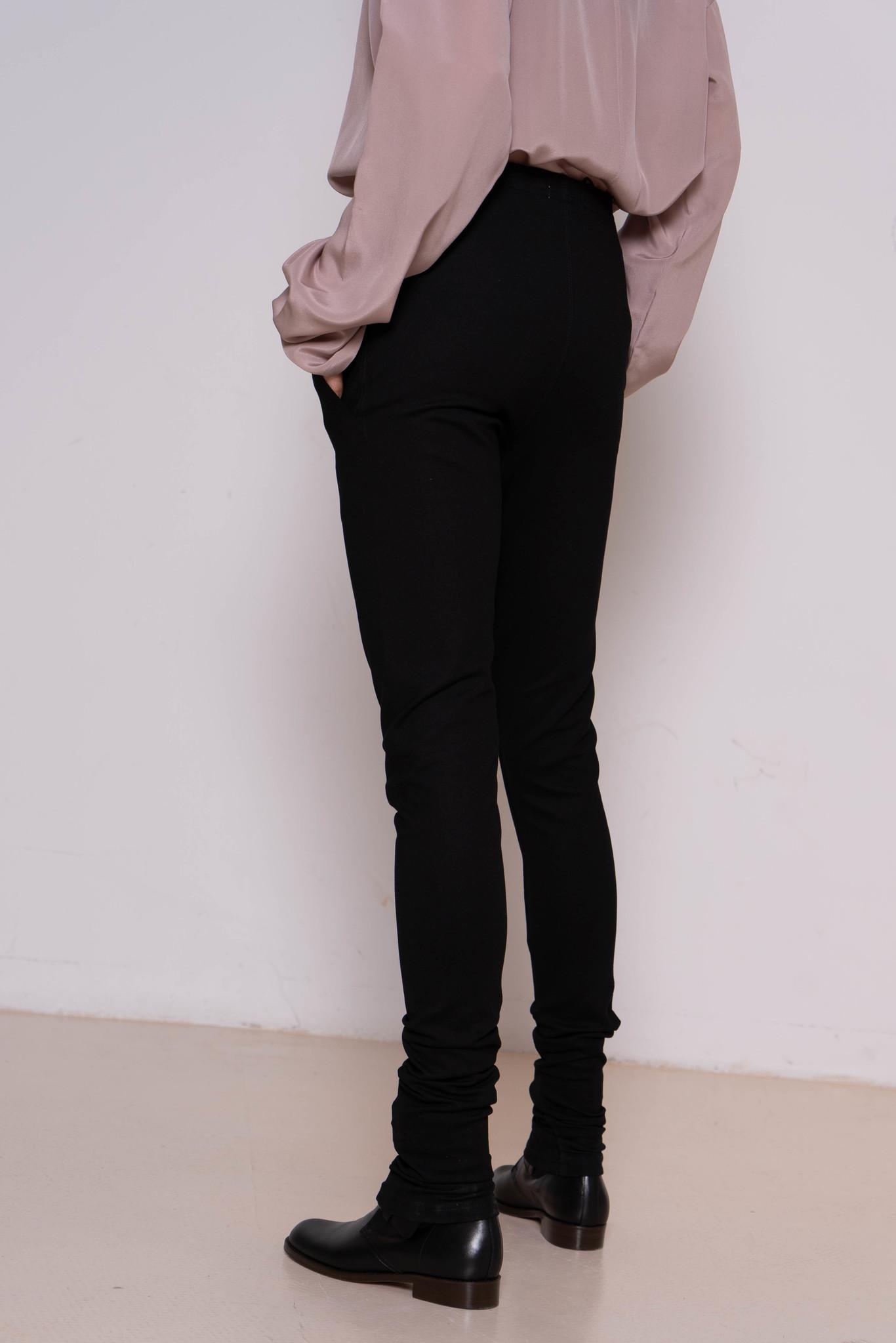 Legging black exotic