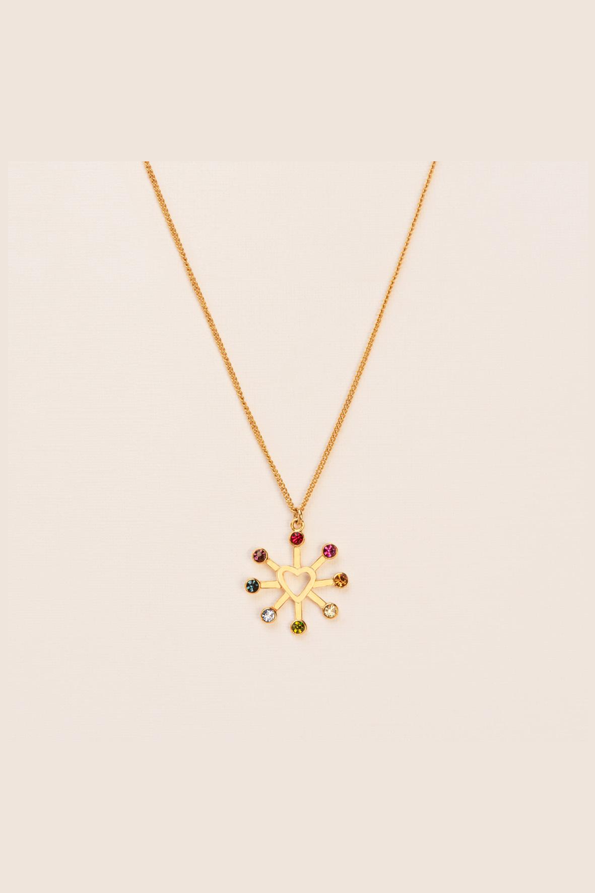 Refined rainbow necklace