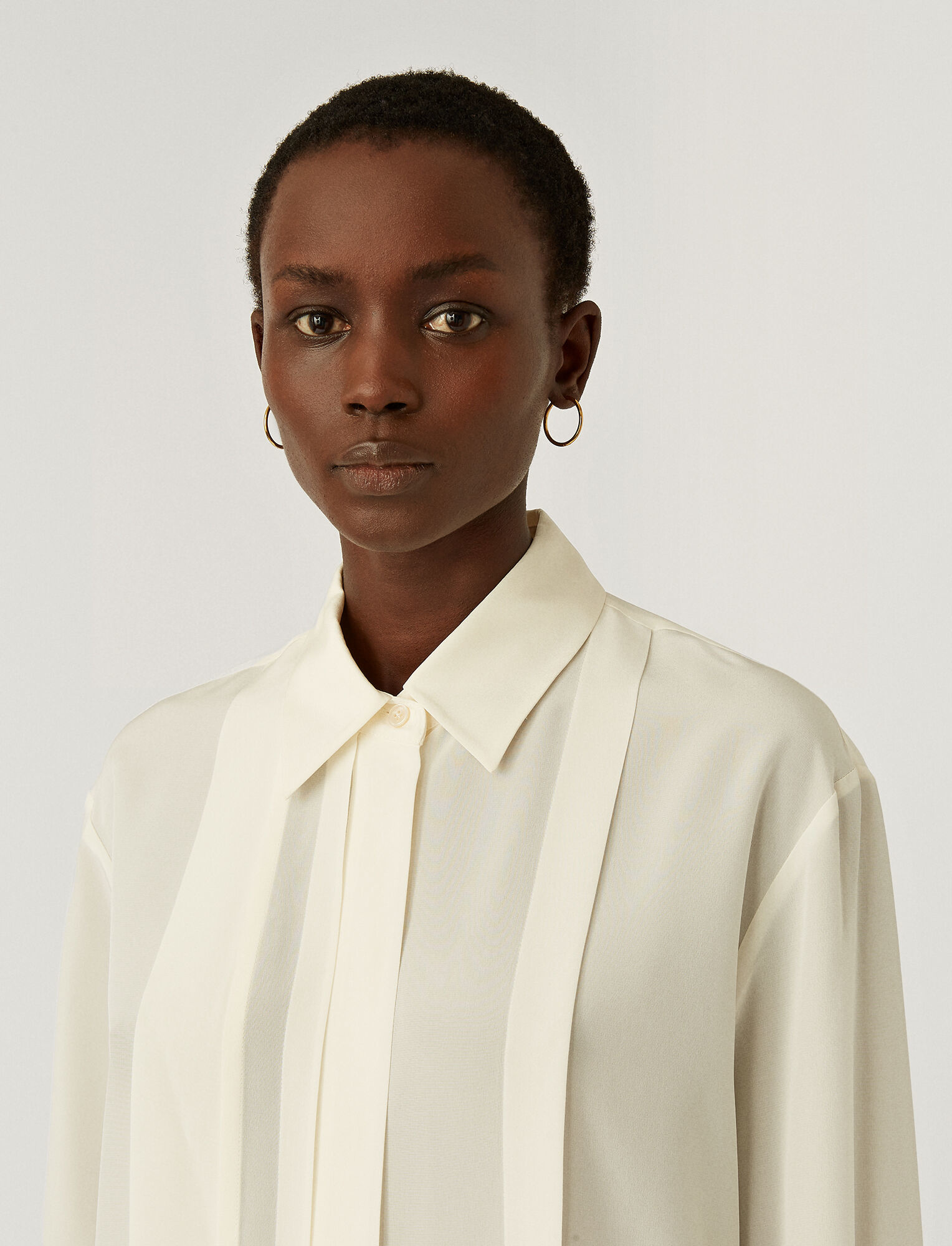 Briana New Cdc Blouse Ivory