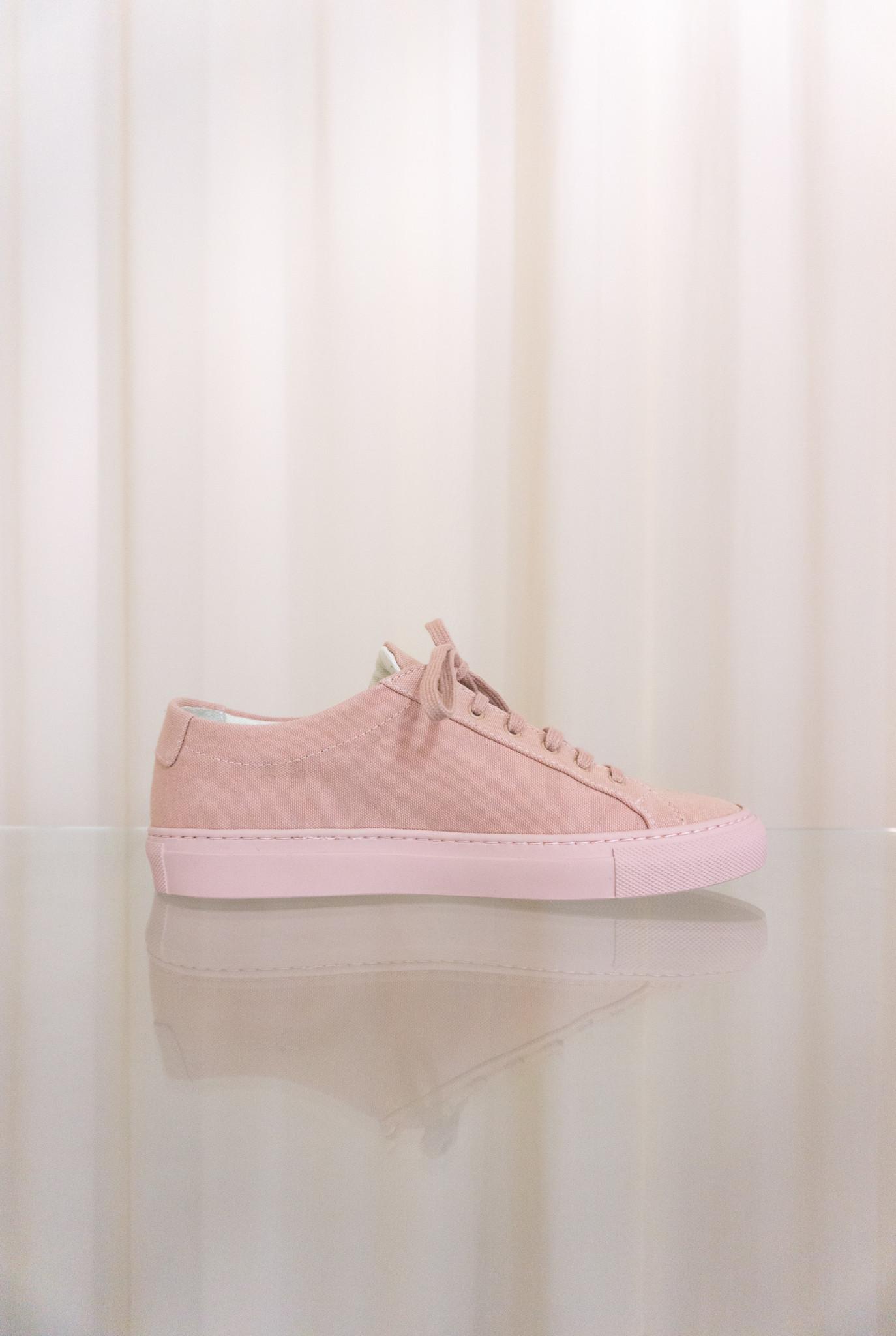 Achilles low sneaker canvas blush