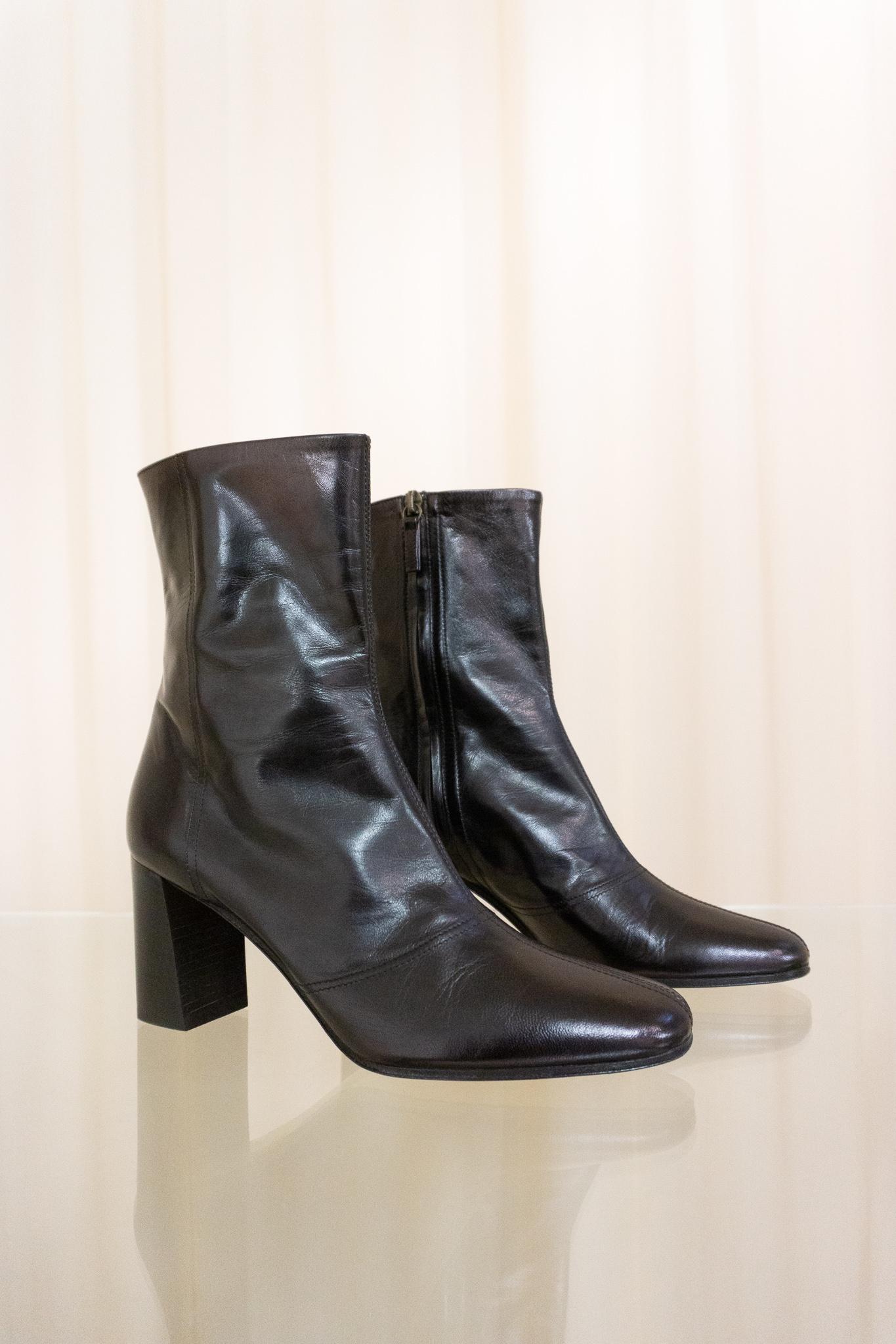 Fame boots Black