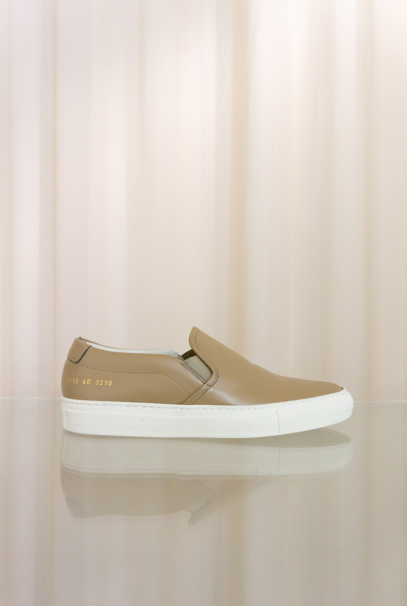 Slip on leather clay