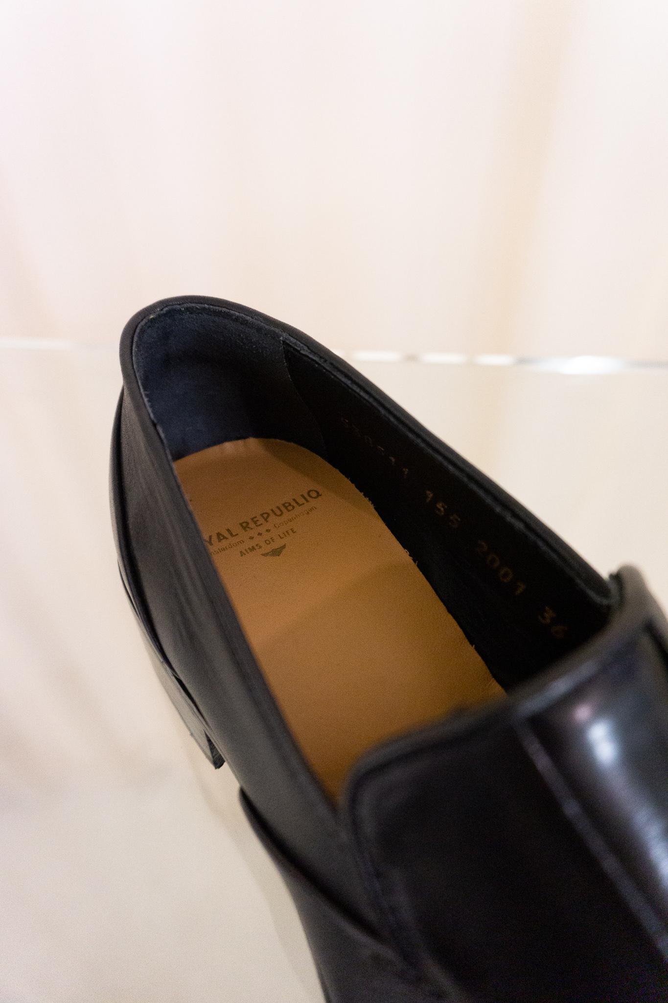 Prime loafer black