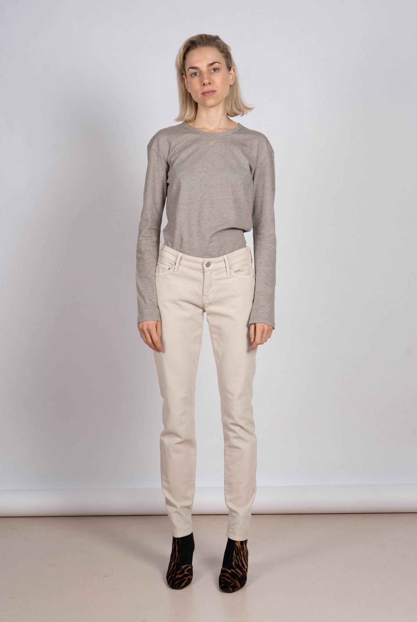 Looker jeans beige rib