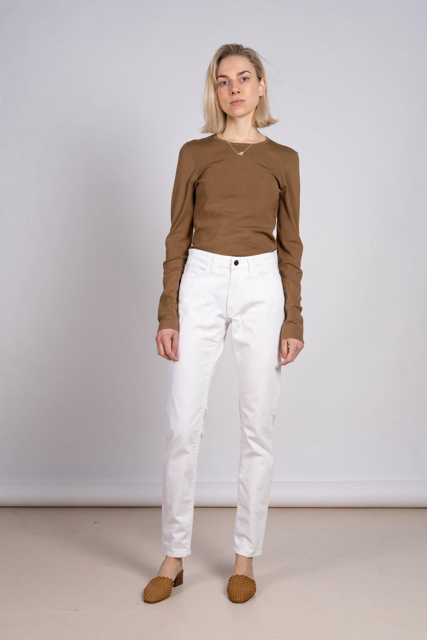 Shape jeans white