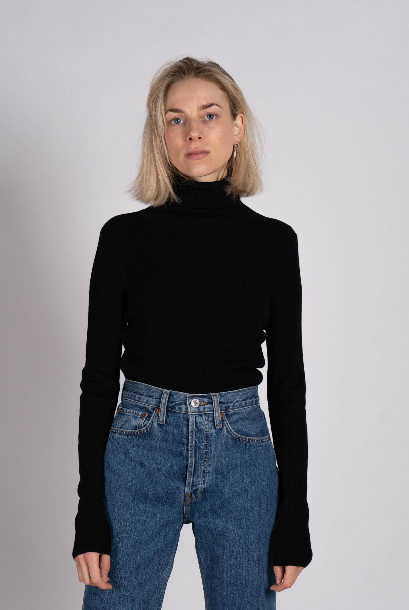 Plum Sweater Black