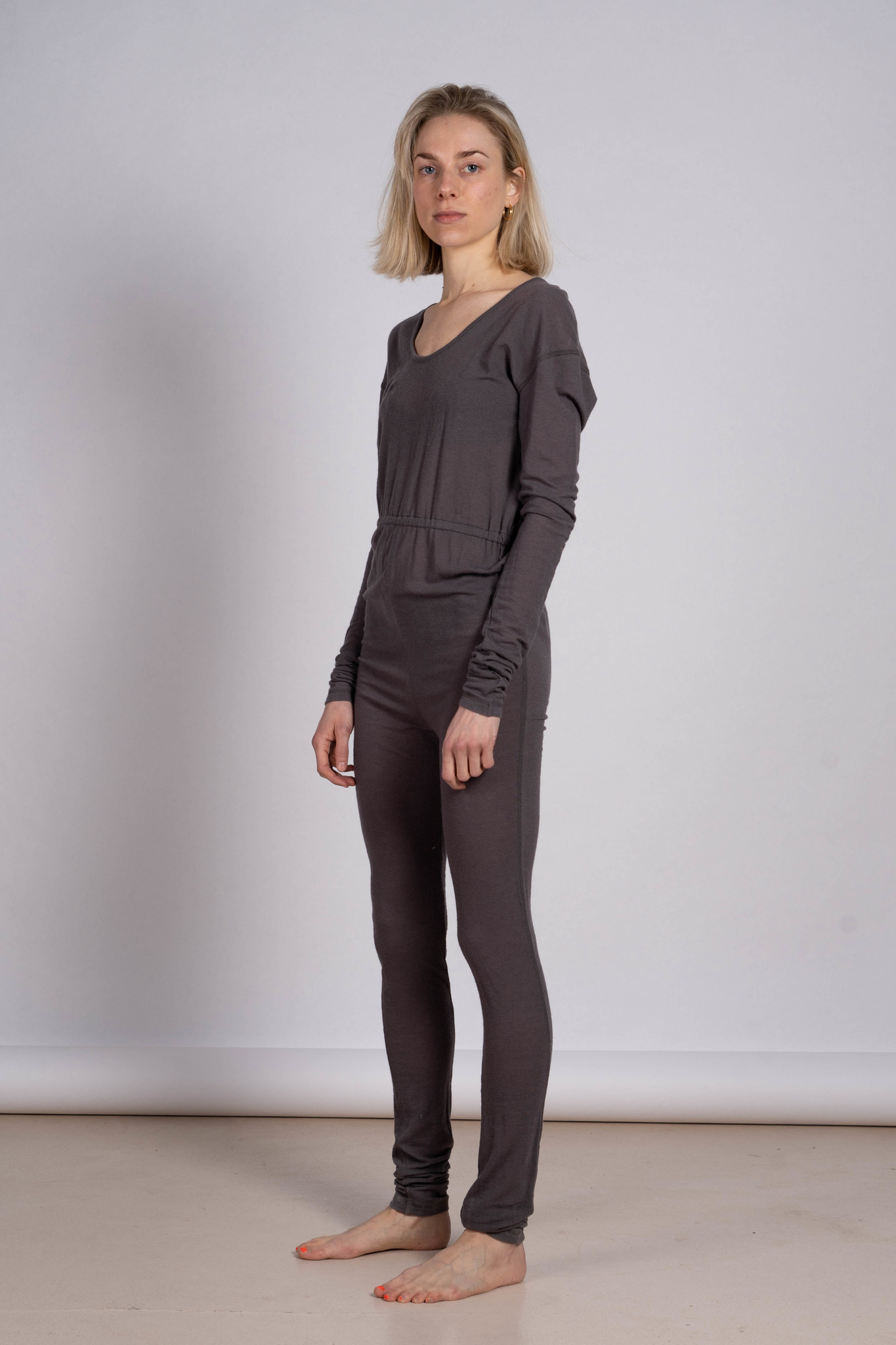 Cosy jumpsuit brown