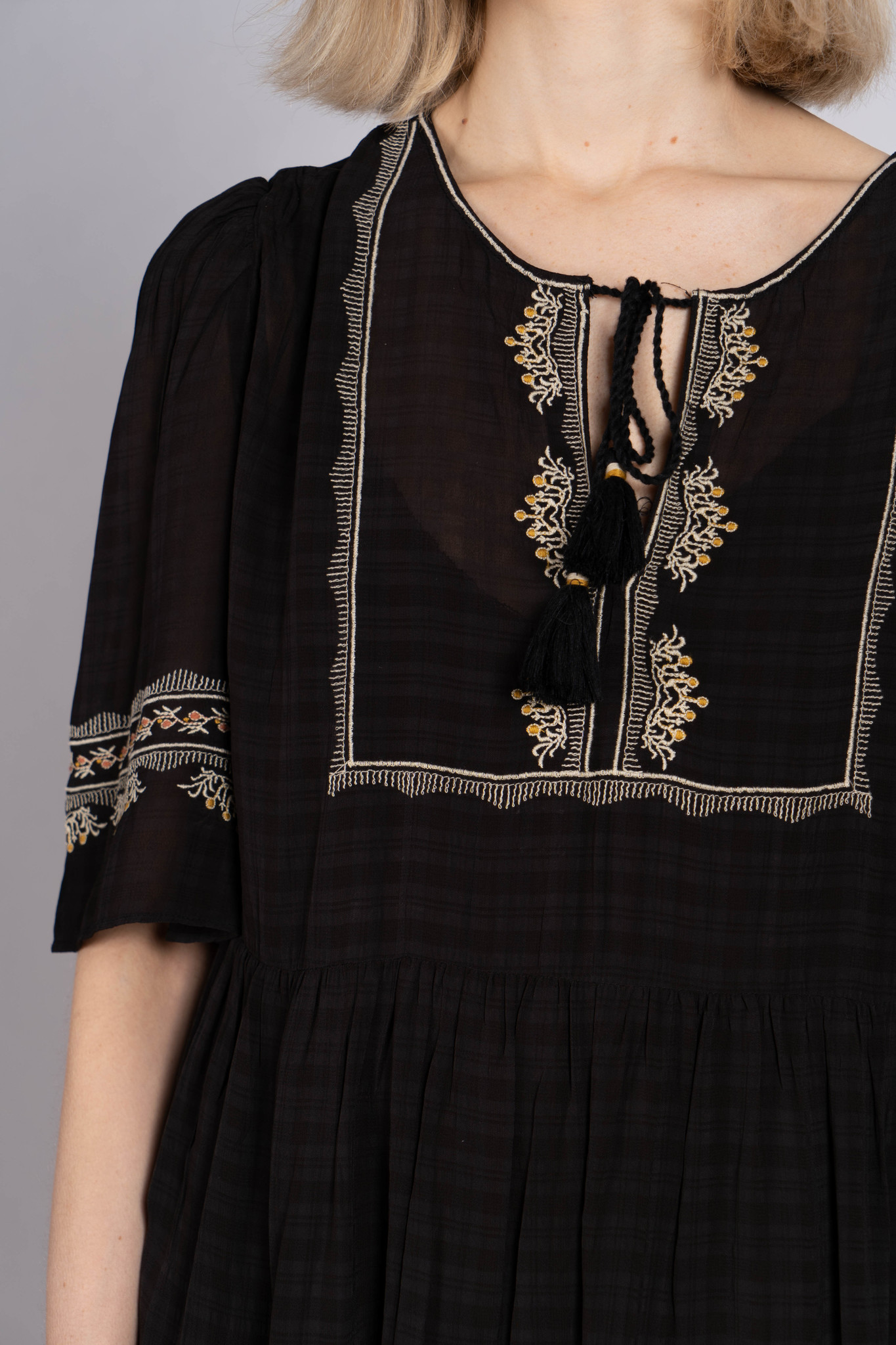 Noeva Dress Black
