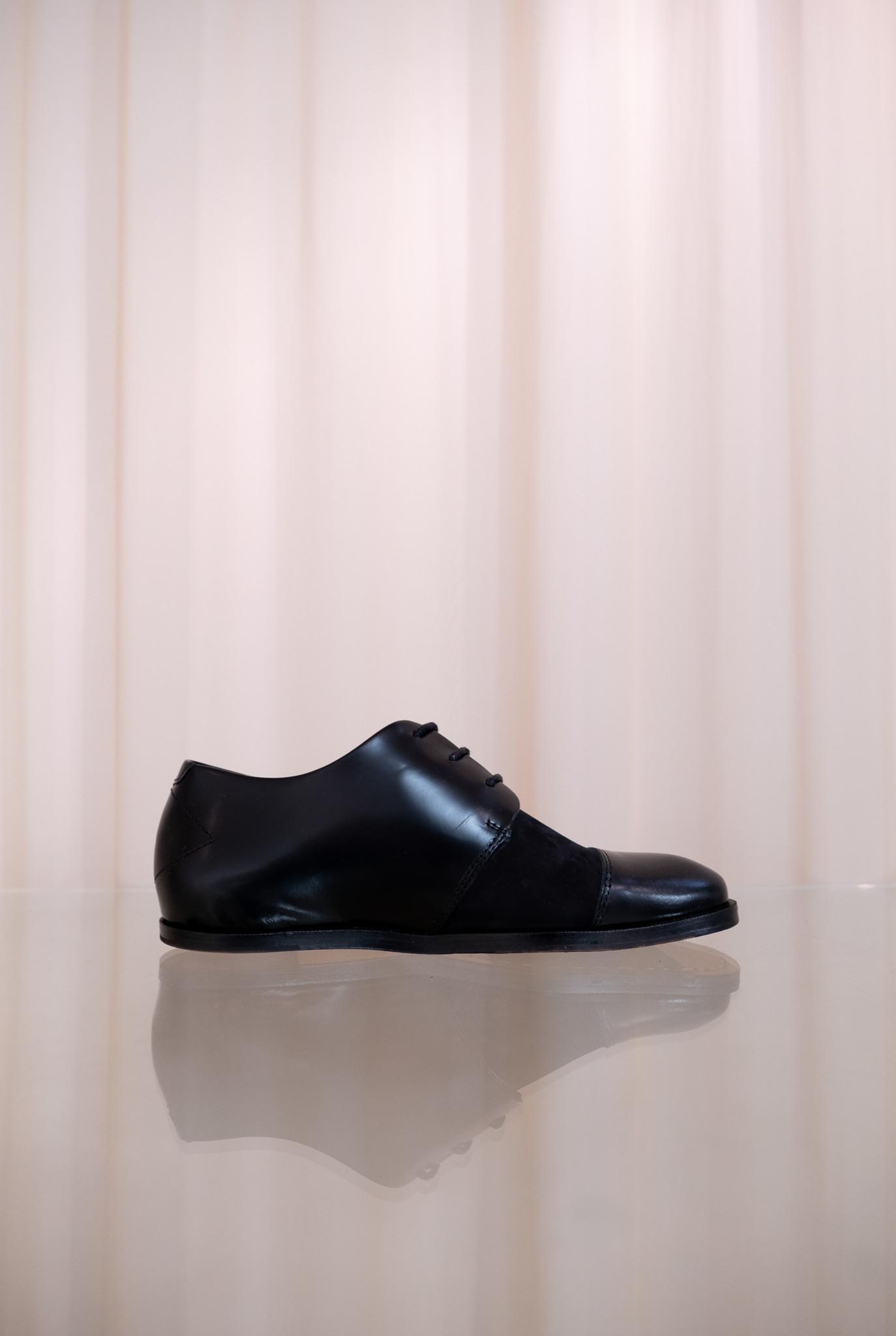 Muanza lace-up shoes black