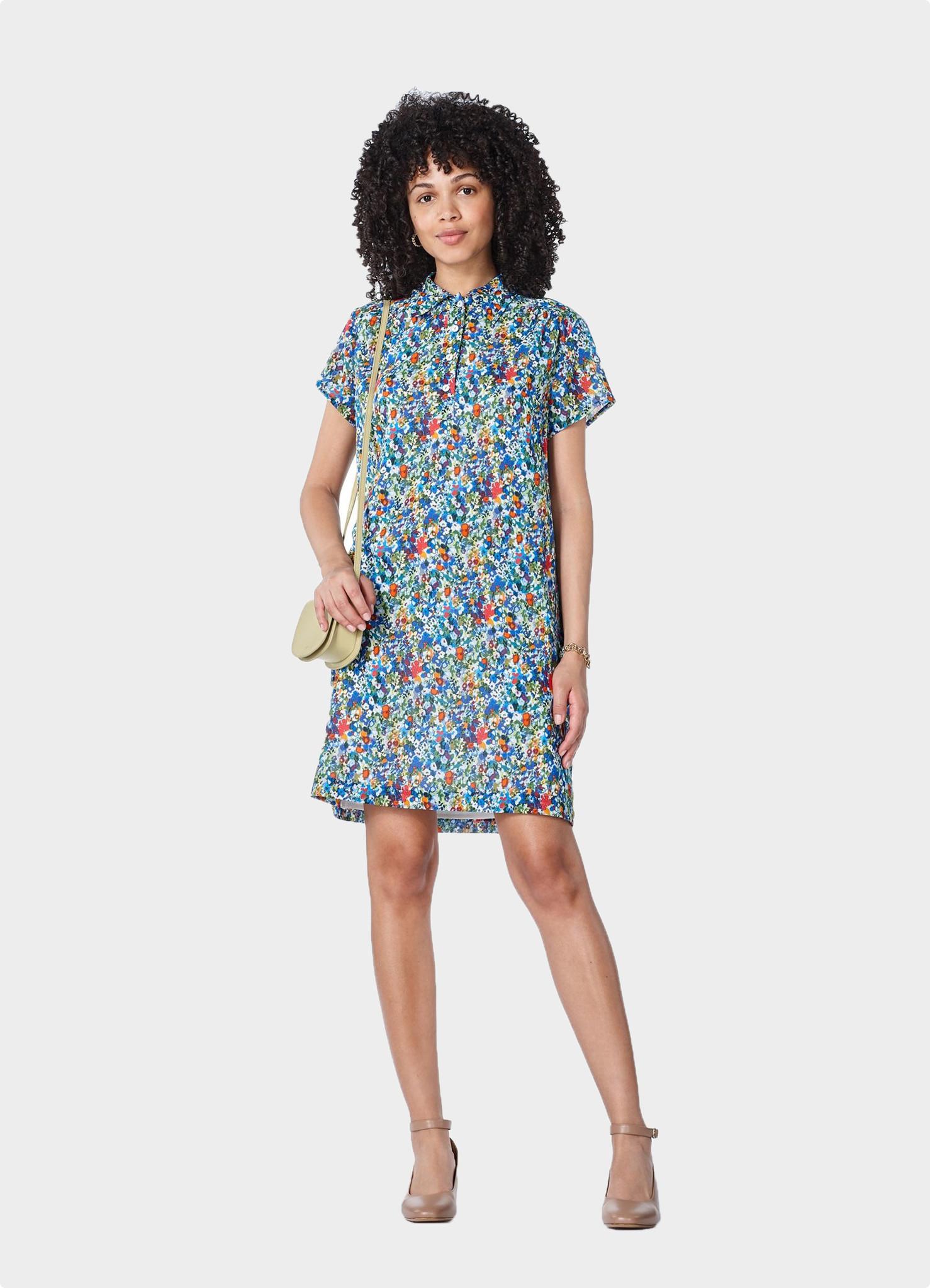 Prudence Dress Flower Print
