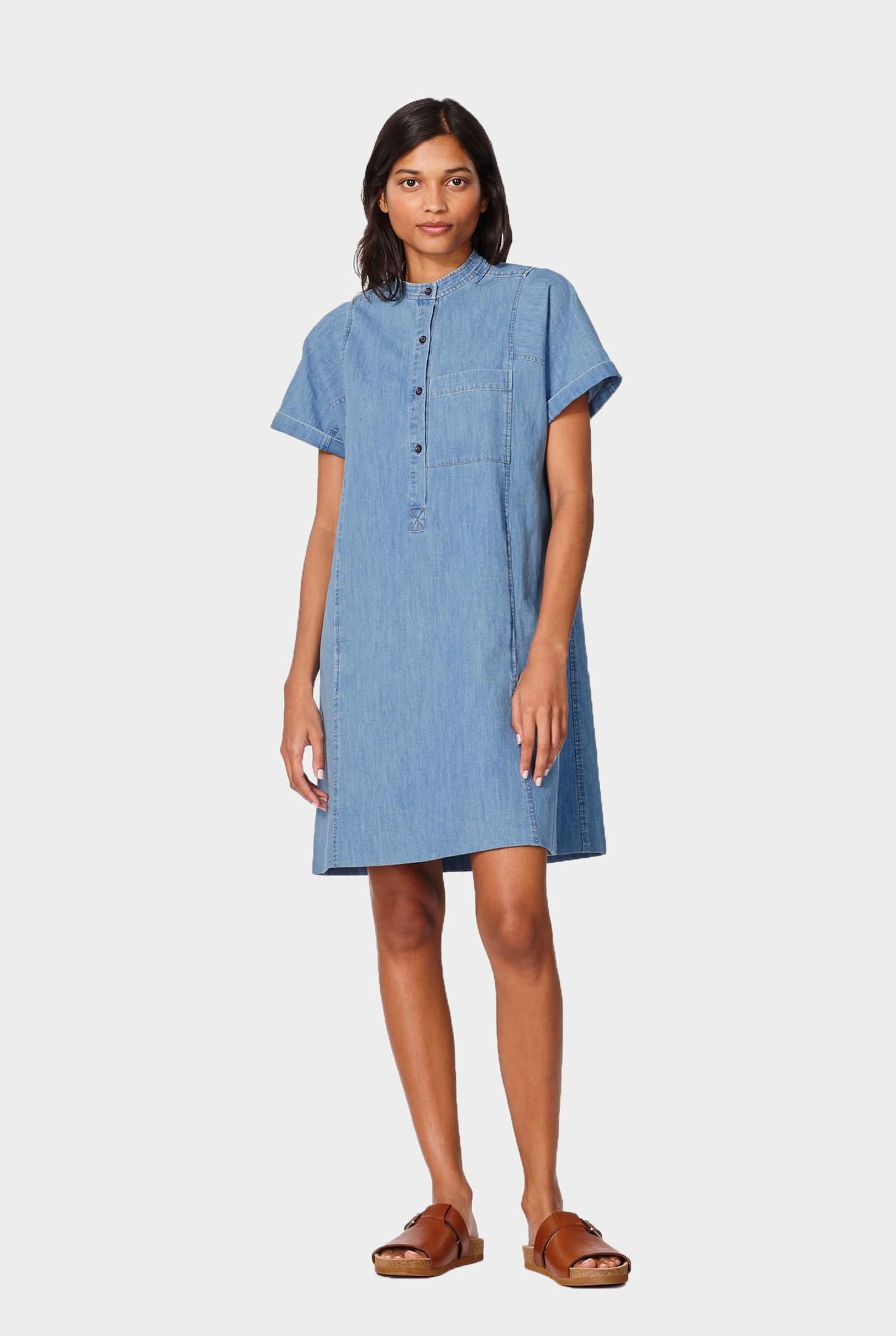 Temple Dress Light Blue Jeans