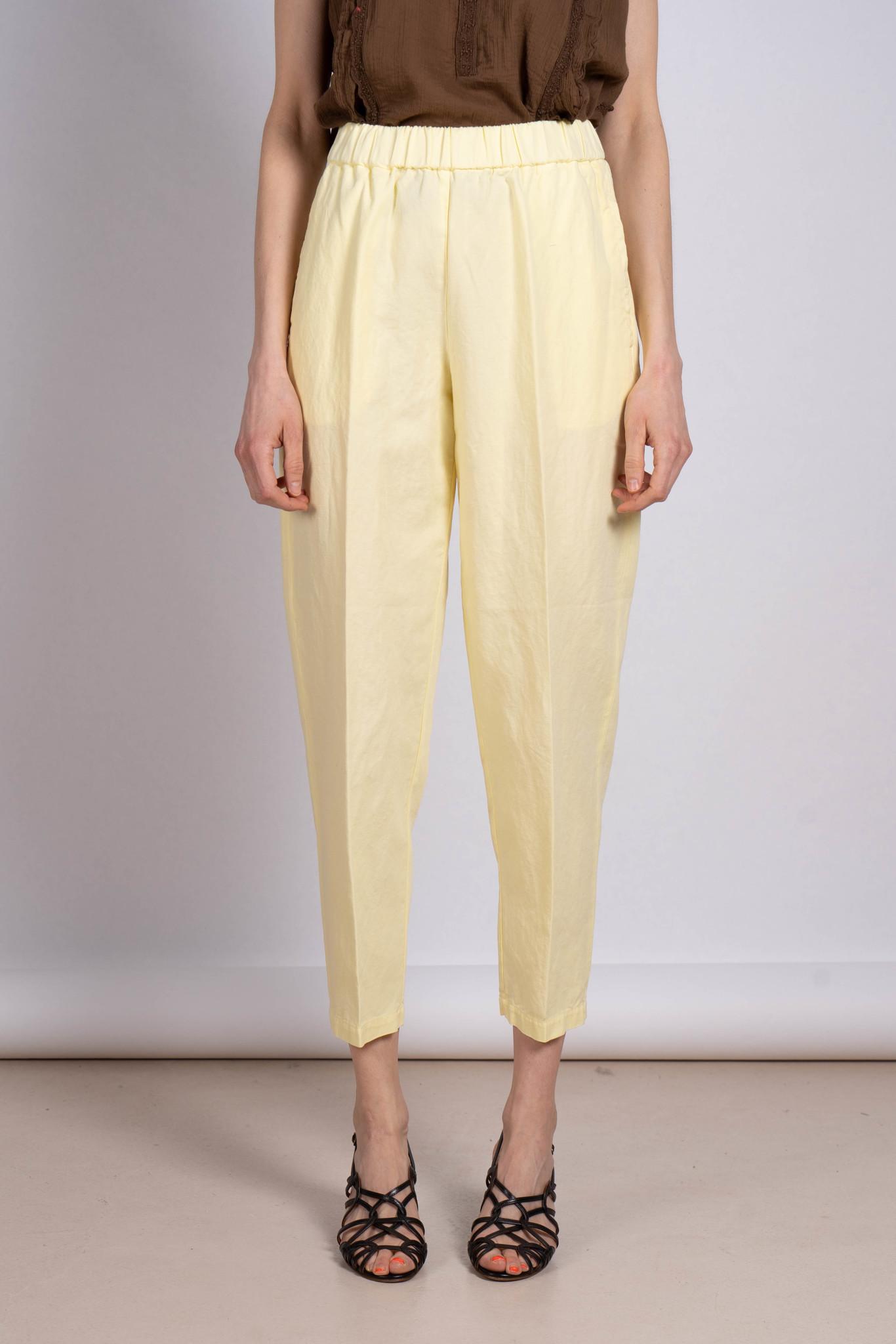 Elastic Trouser Yellow