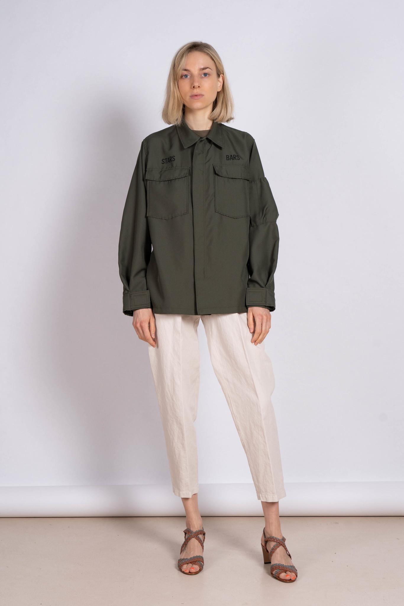 Khaki Zipper Jacket