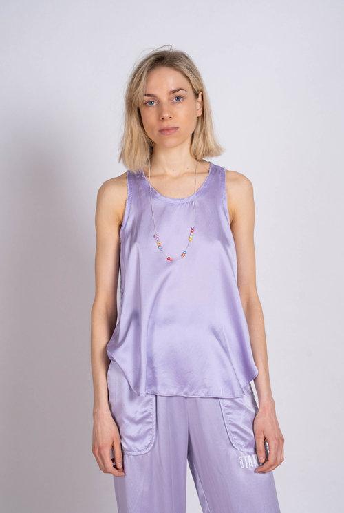 Silk Tank Top Lavender