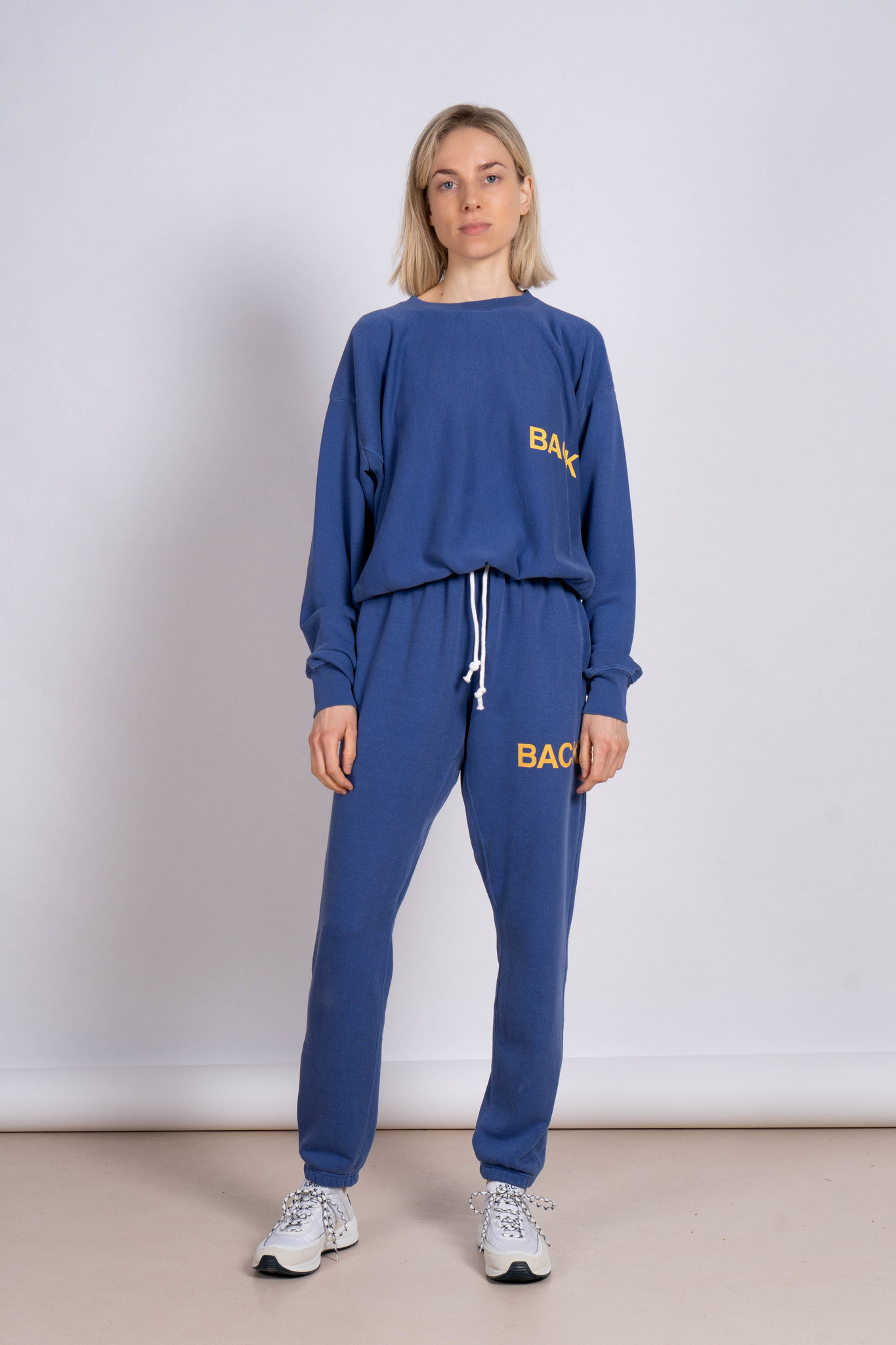 "Sweater Blue ""Back"""