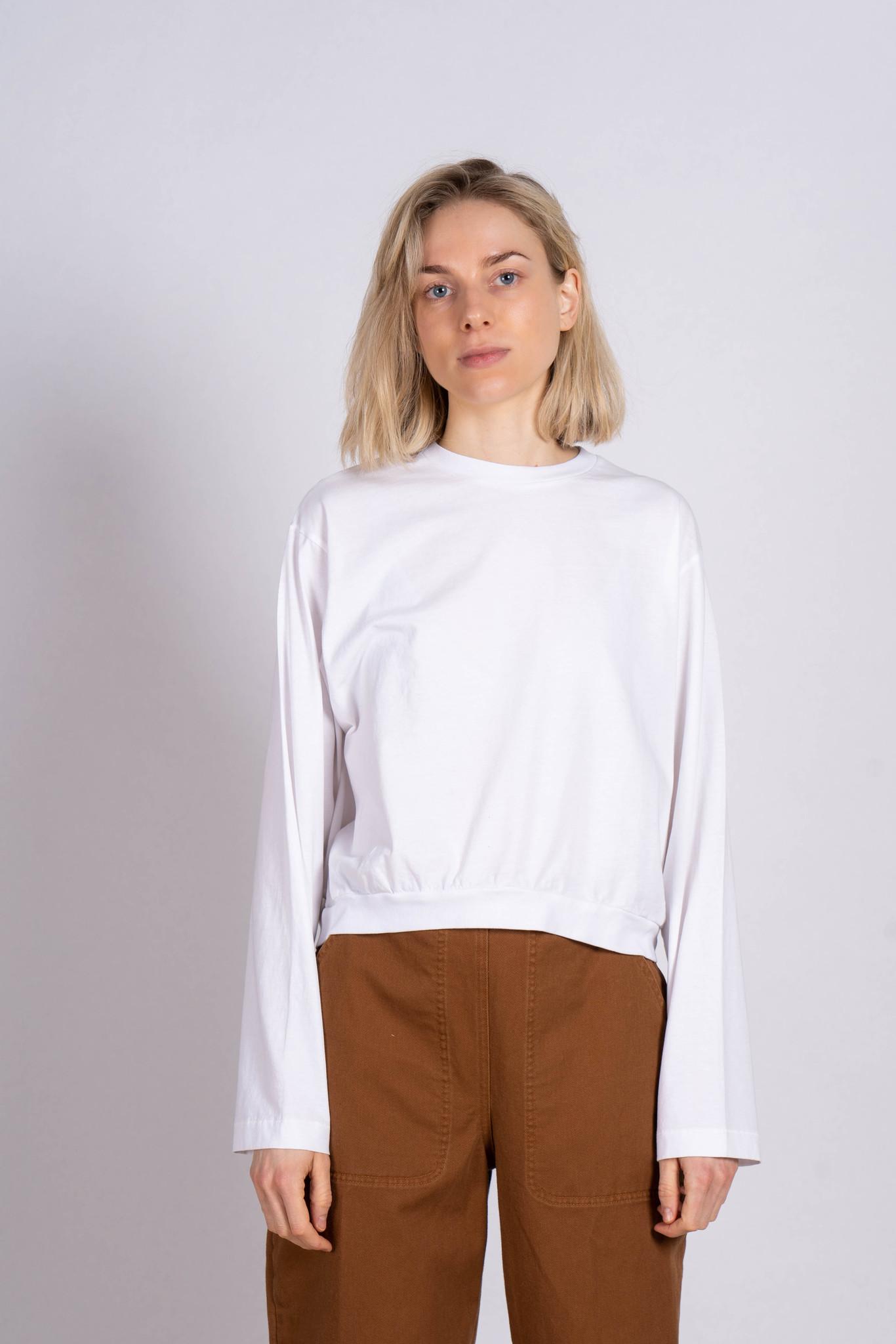 Longsleeve Sweater T-shirt White