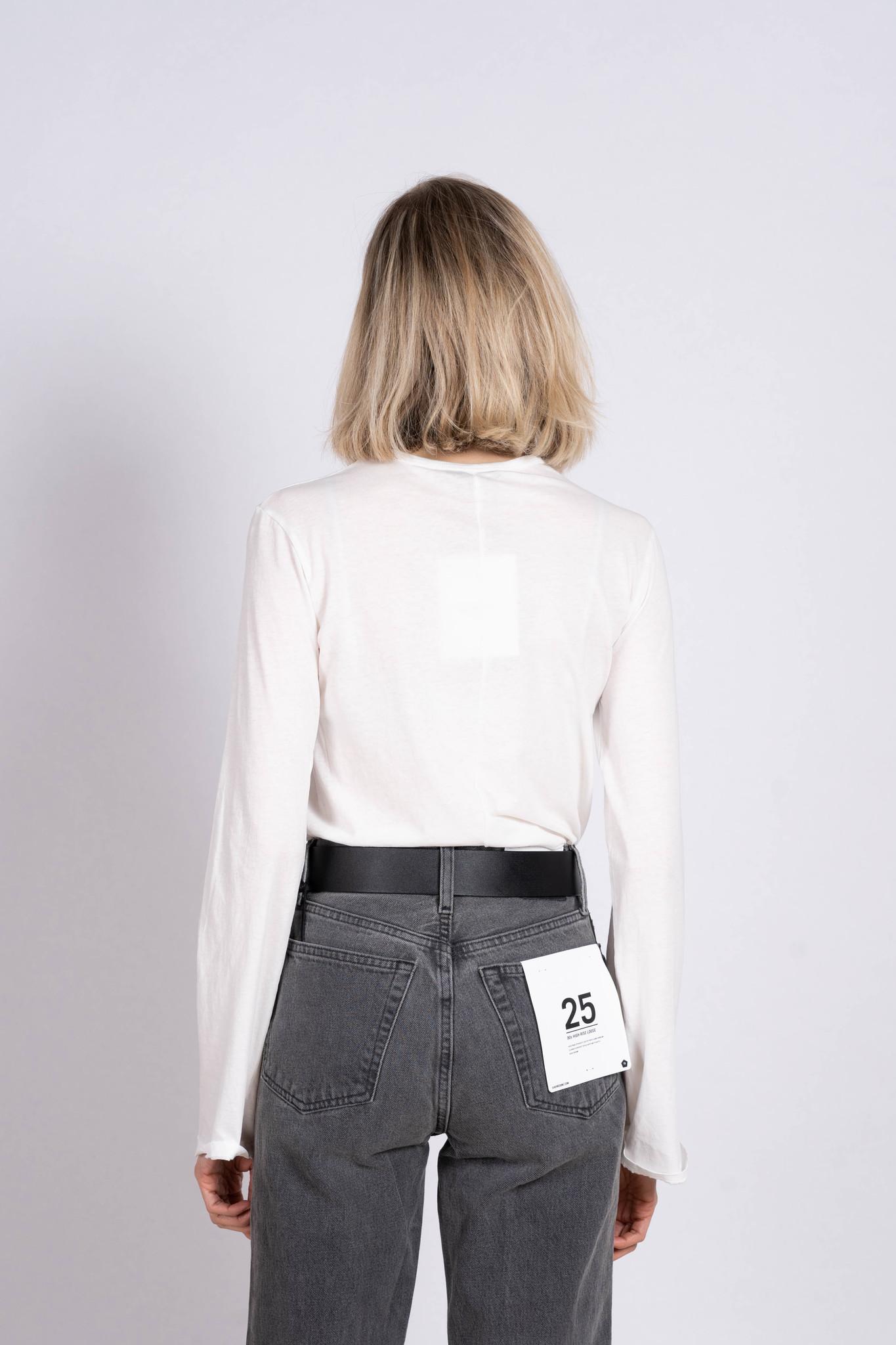 Longsleeve Slim T-shirt White