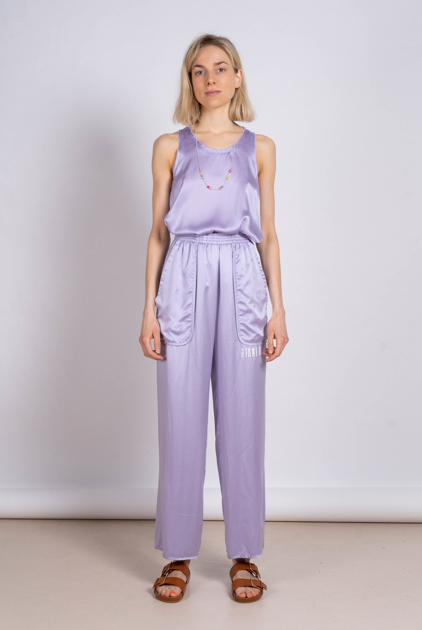 Trouser Silk Lavender
