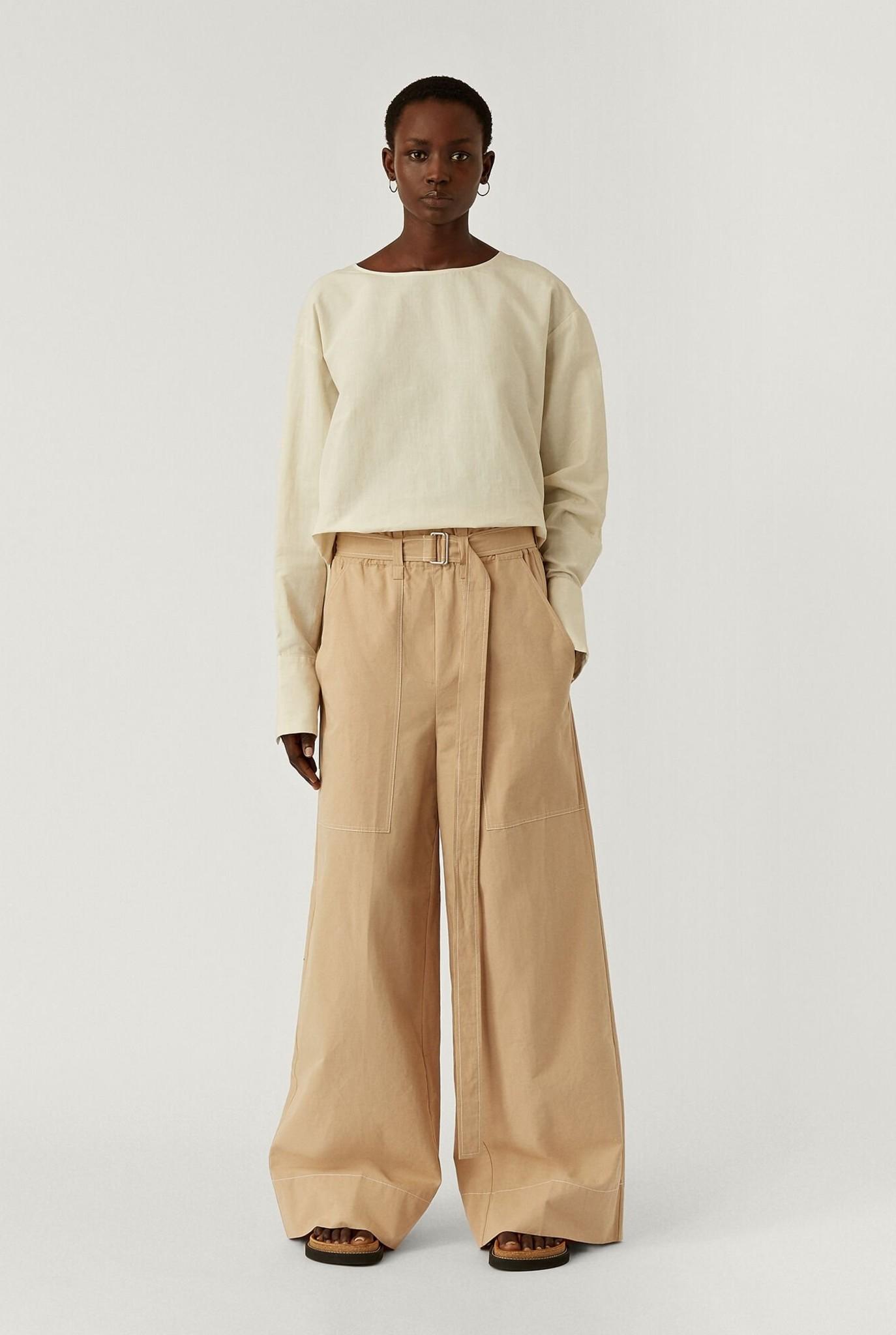 Taika Trousers Cotton Linen