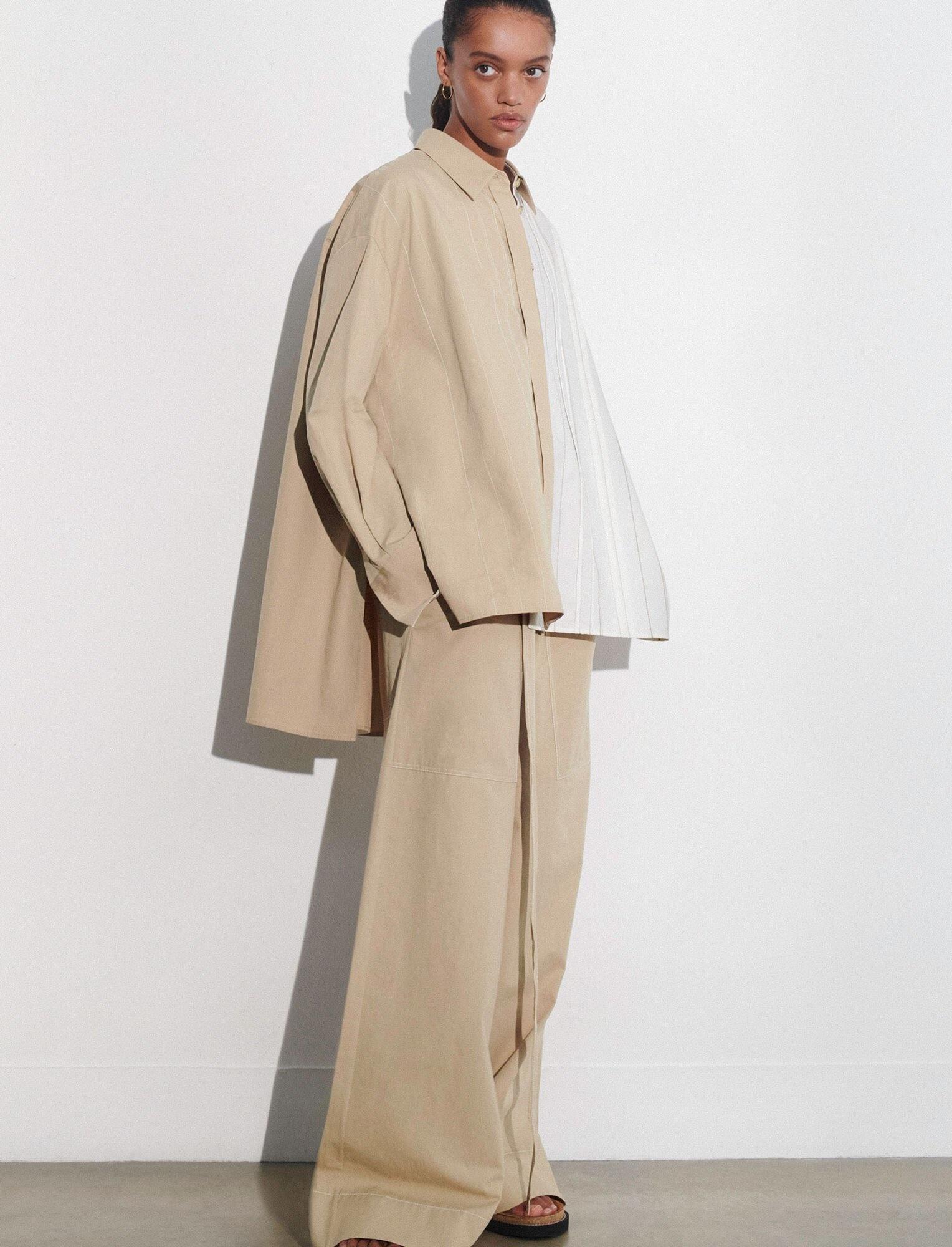 Bacar Blouse  Cotton Linen Off White