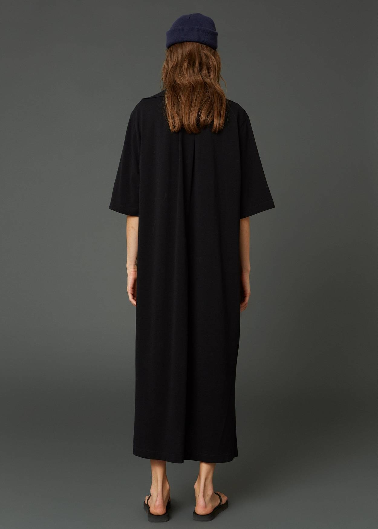 Polo dress black