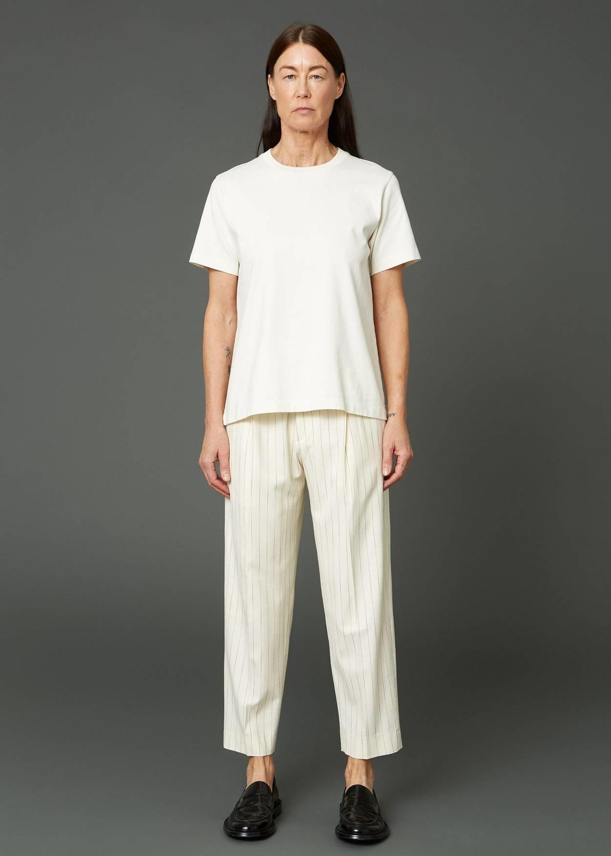 Alta trousers off white stripe