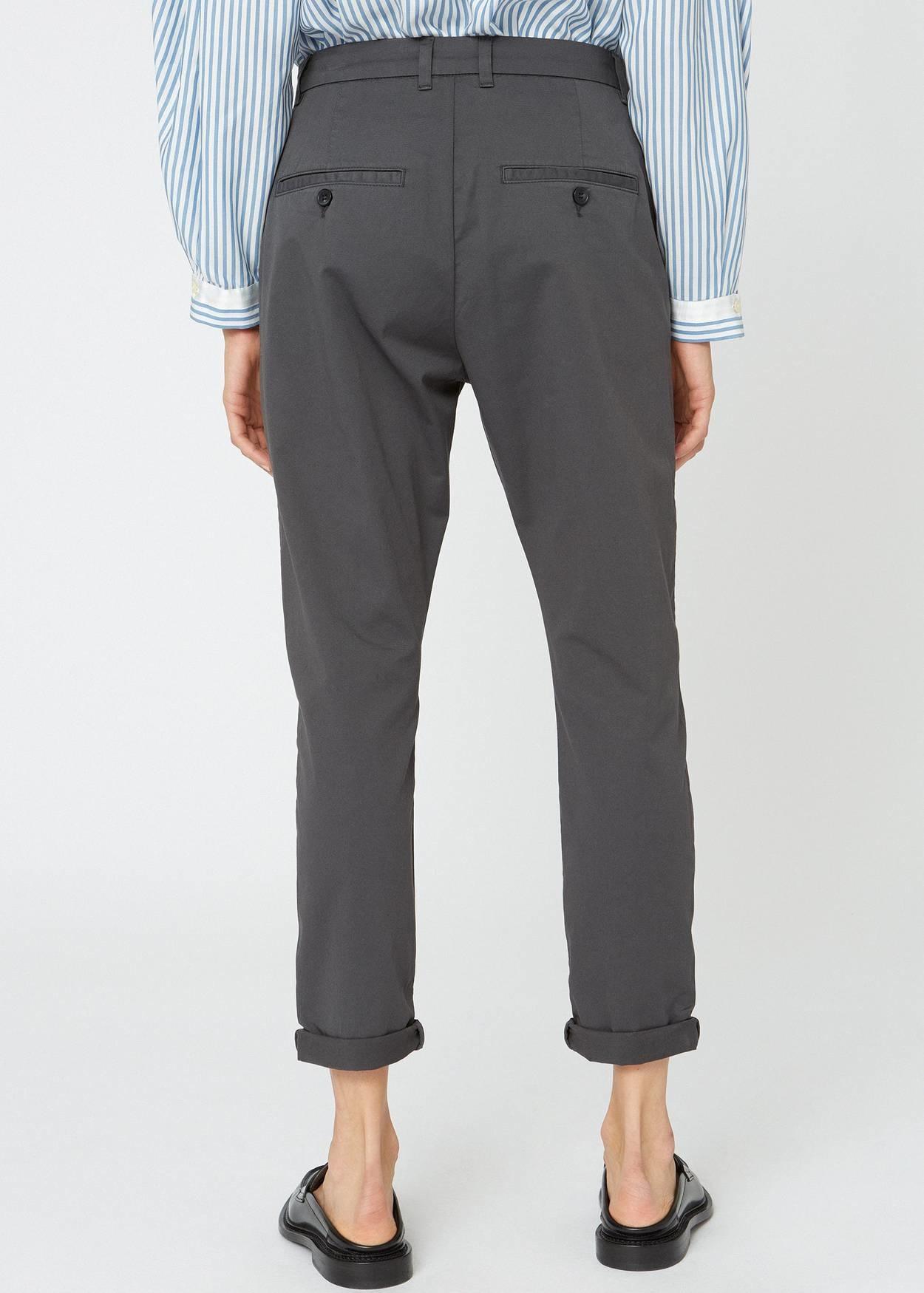 News Edit trousers khaki dk grey