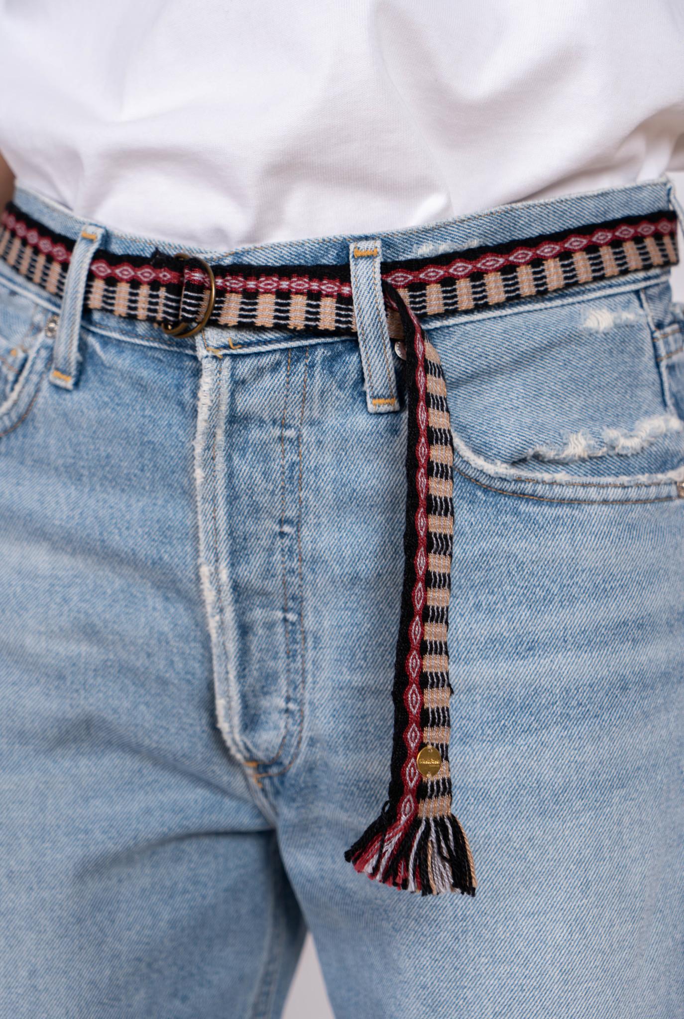 Thin Cotton Belt Red