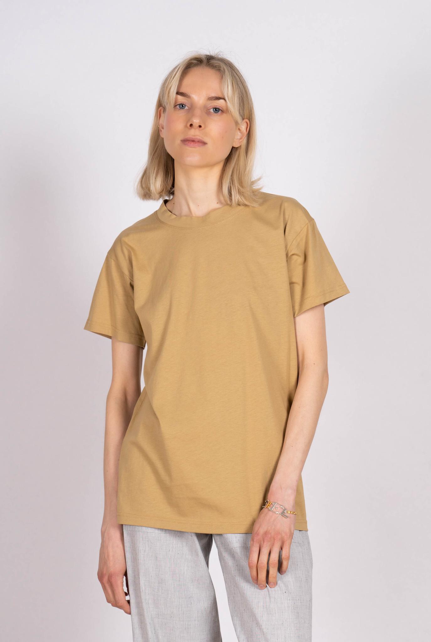Boy T-shirt Beige Jersey
